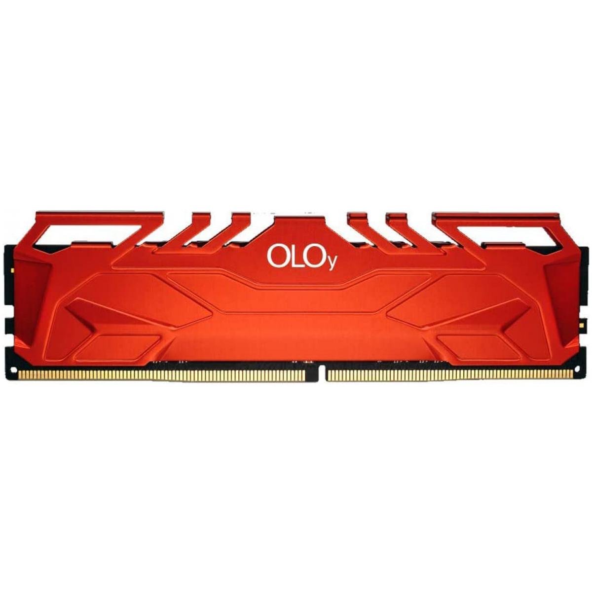 Memória DDR4 OLOy Owl, 16GB, 3000MHz, Red, MD4U163016CHSA