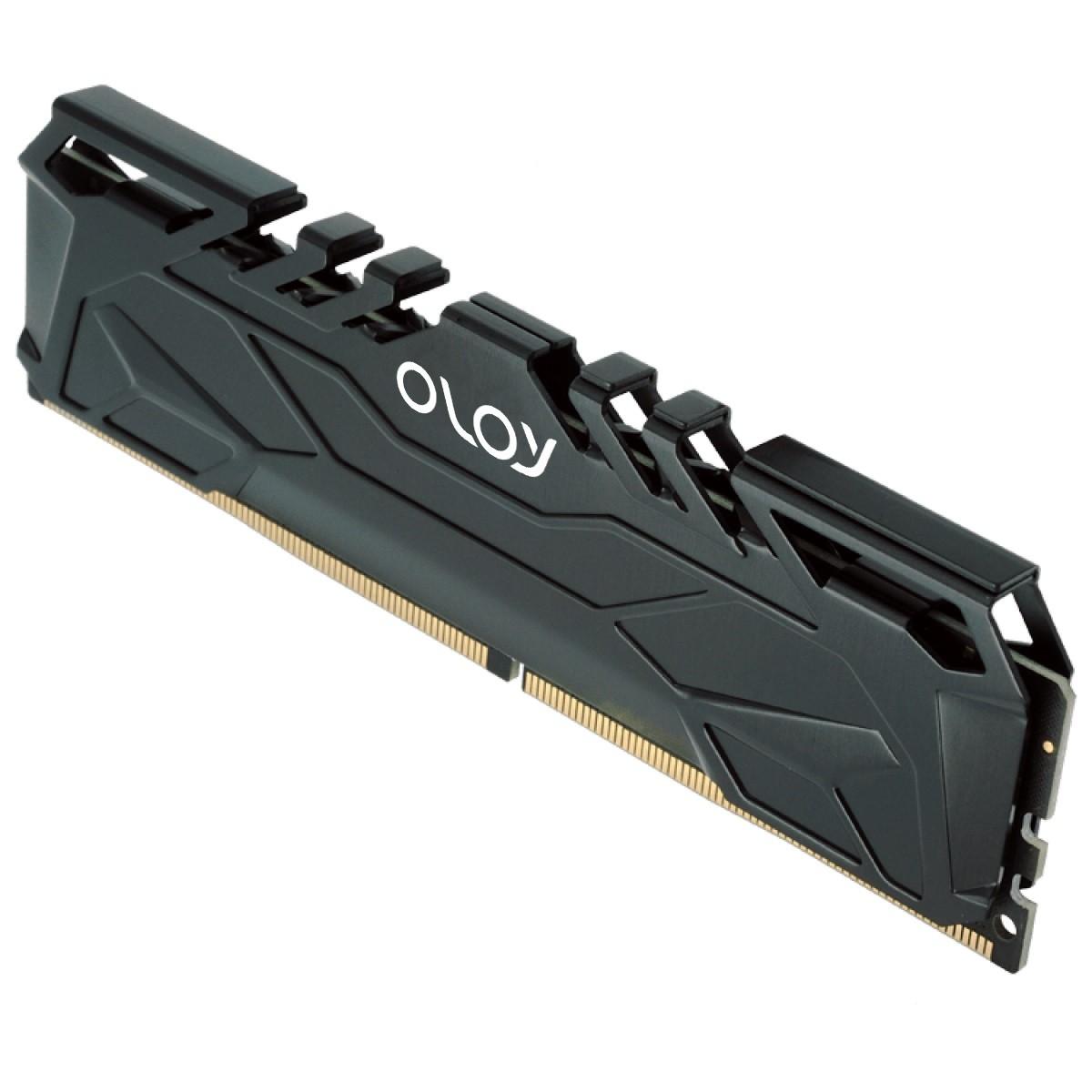 Memória DDR4 OLOy Owl Black, 16GB (2x8GB), 2666MHz, Black, MD4U082619BJDA - IMP