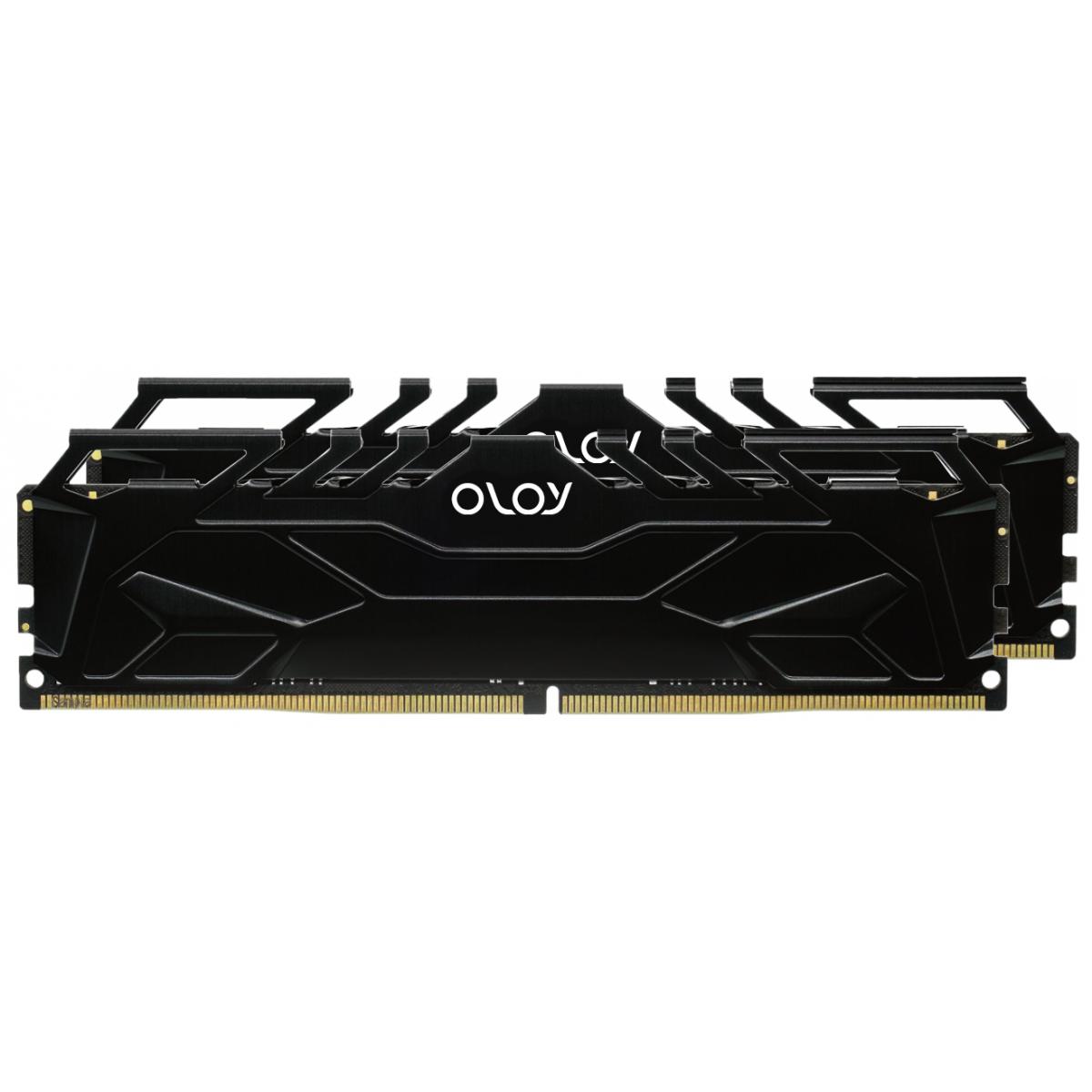 Memória DDR4 OLOy Owl Black, 16GB (2x8GB), 2666MHz, Black, MD4U082619BJDA