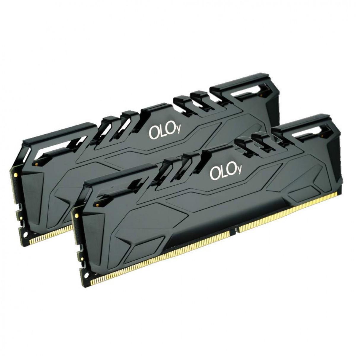 Memória DDR4 OLOy Owl Black, 32GB (2x16GB), 2666MHz, Black, MD4U162619BJDA - IMP