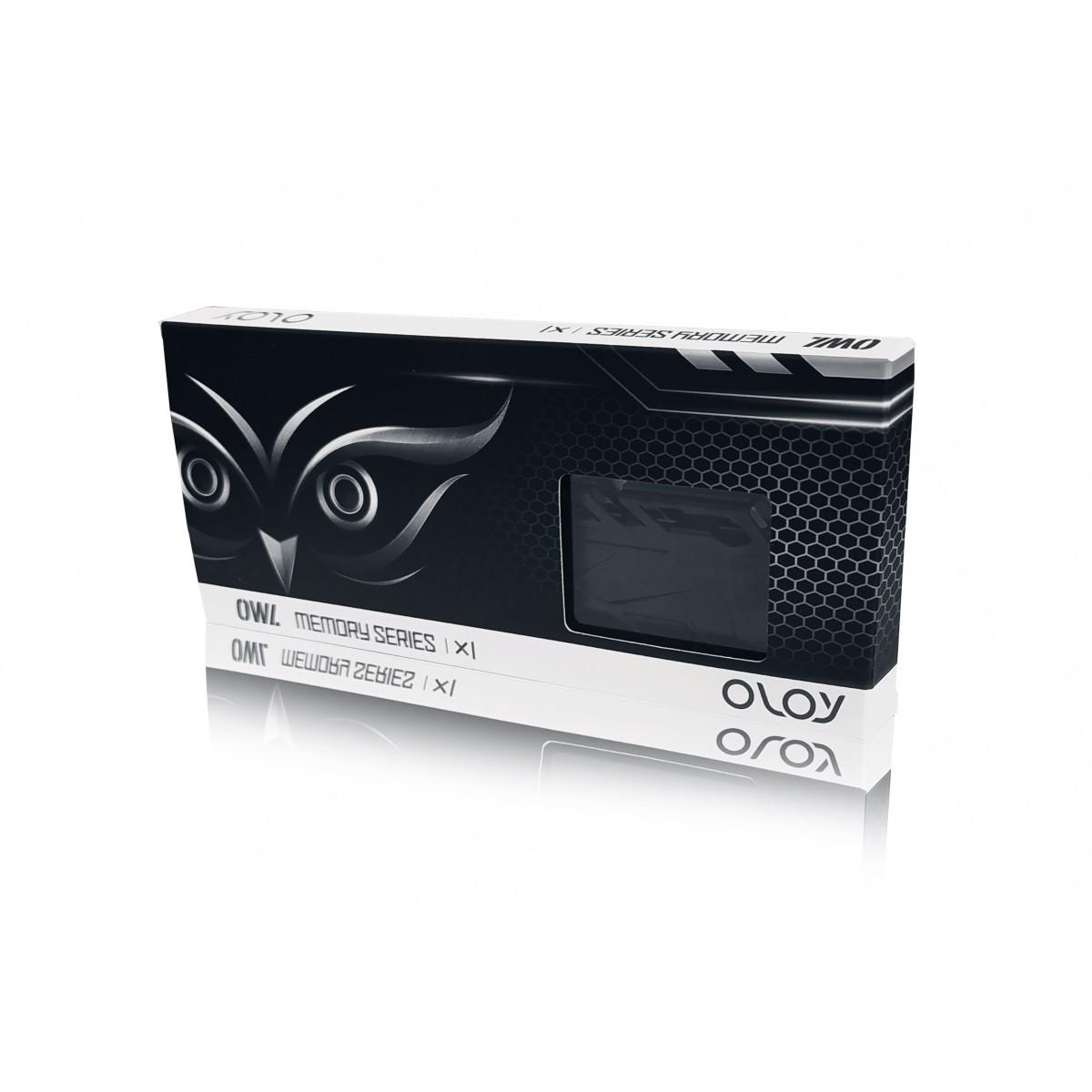 Memória DDR4 OLOy Owl Black, 8GB, 2666MHZ, MD4U0826190BHKSA - IMP