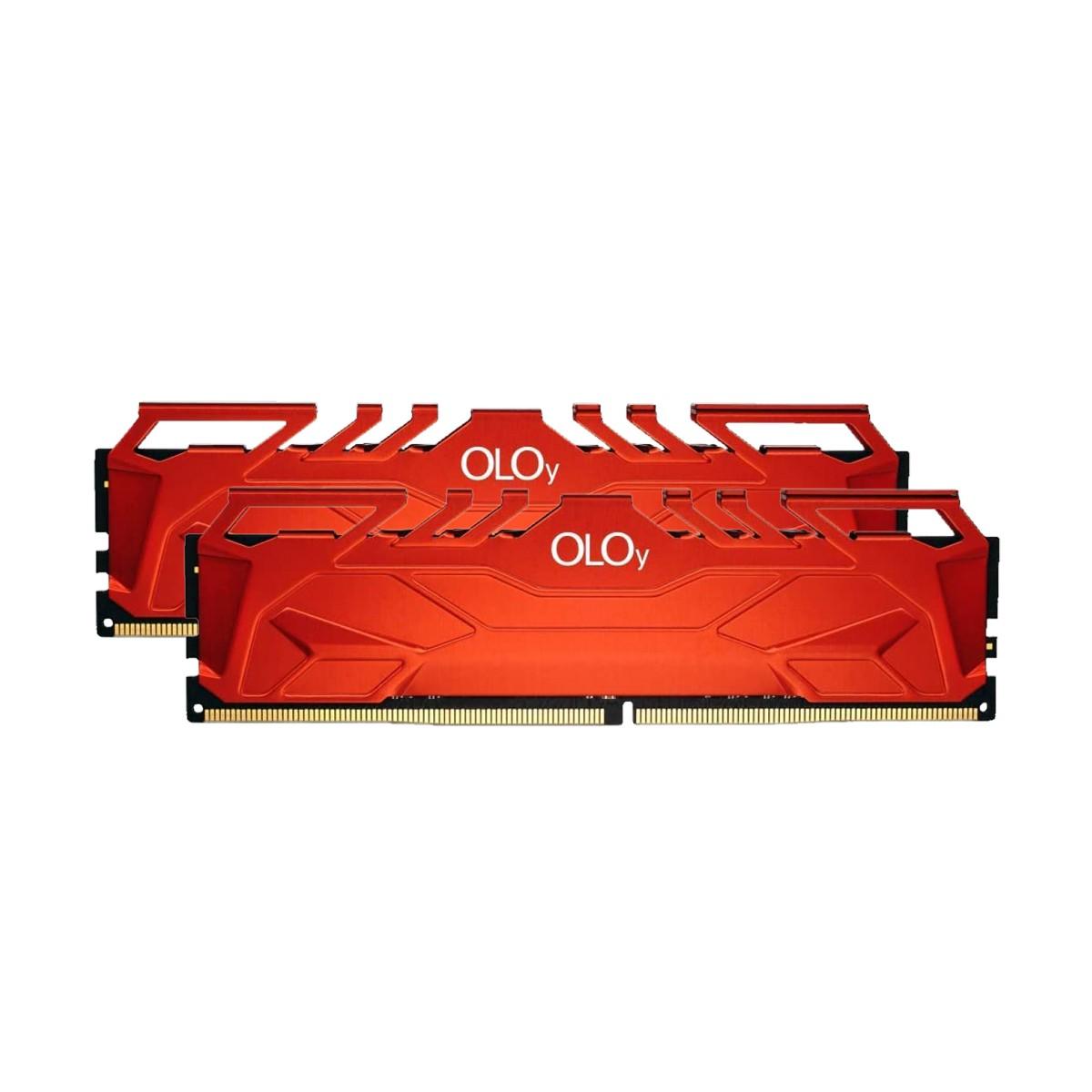 Memória DDR4 OLOy Owl Red, 32GB (2X16GB), 3000MHz, Red, MD4U163016CFDA