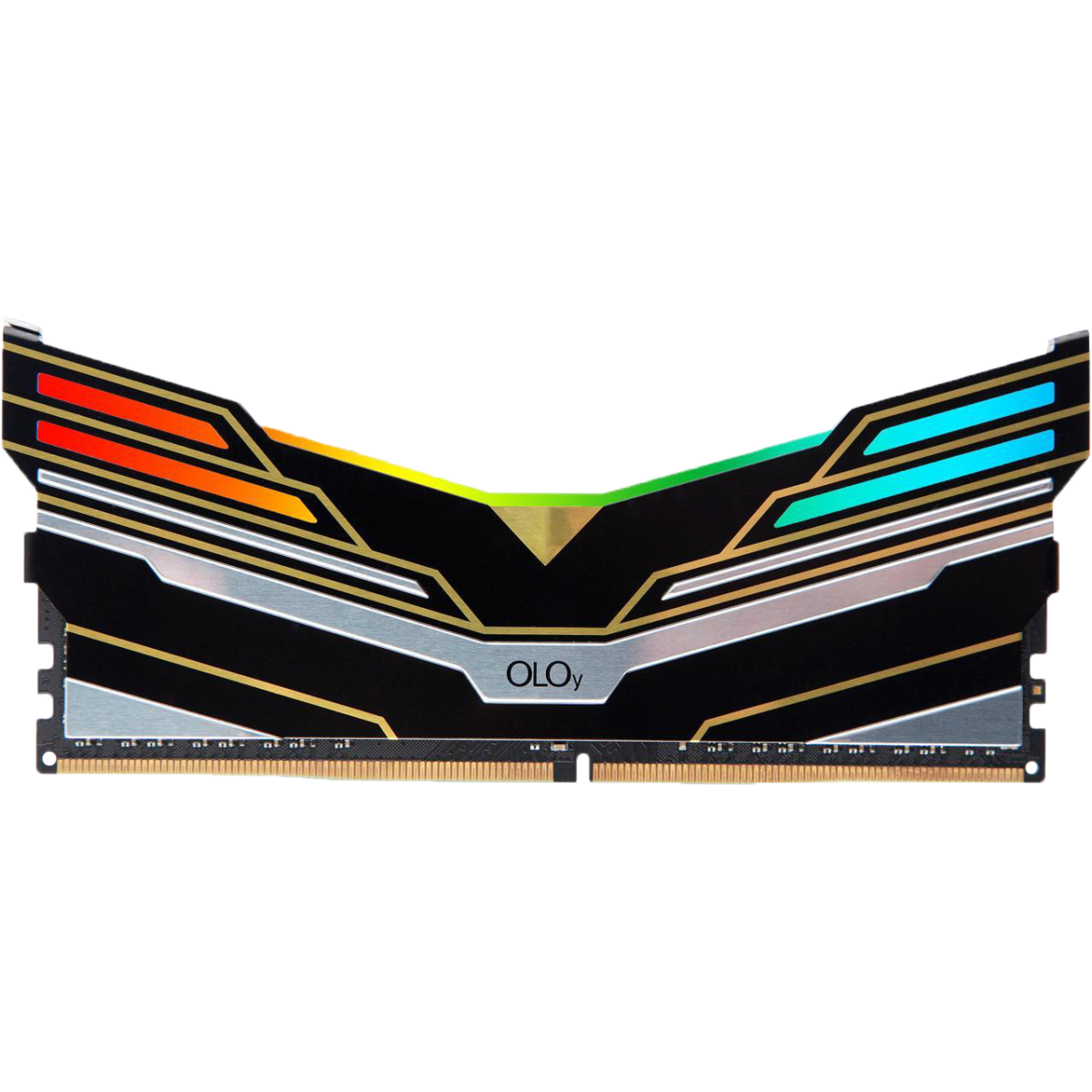 Memória DDR4 OLOy WarHawk Black, 16GB (2x8GB), 3600MHZ, RGB, MD4U083618BEDA
