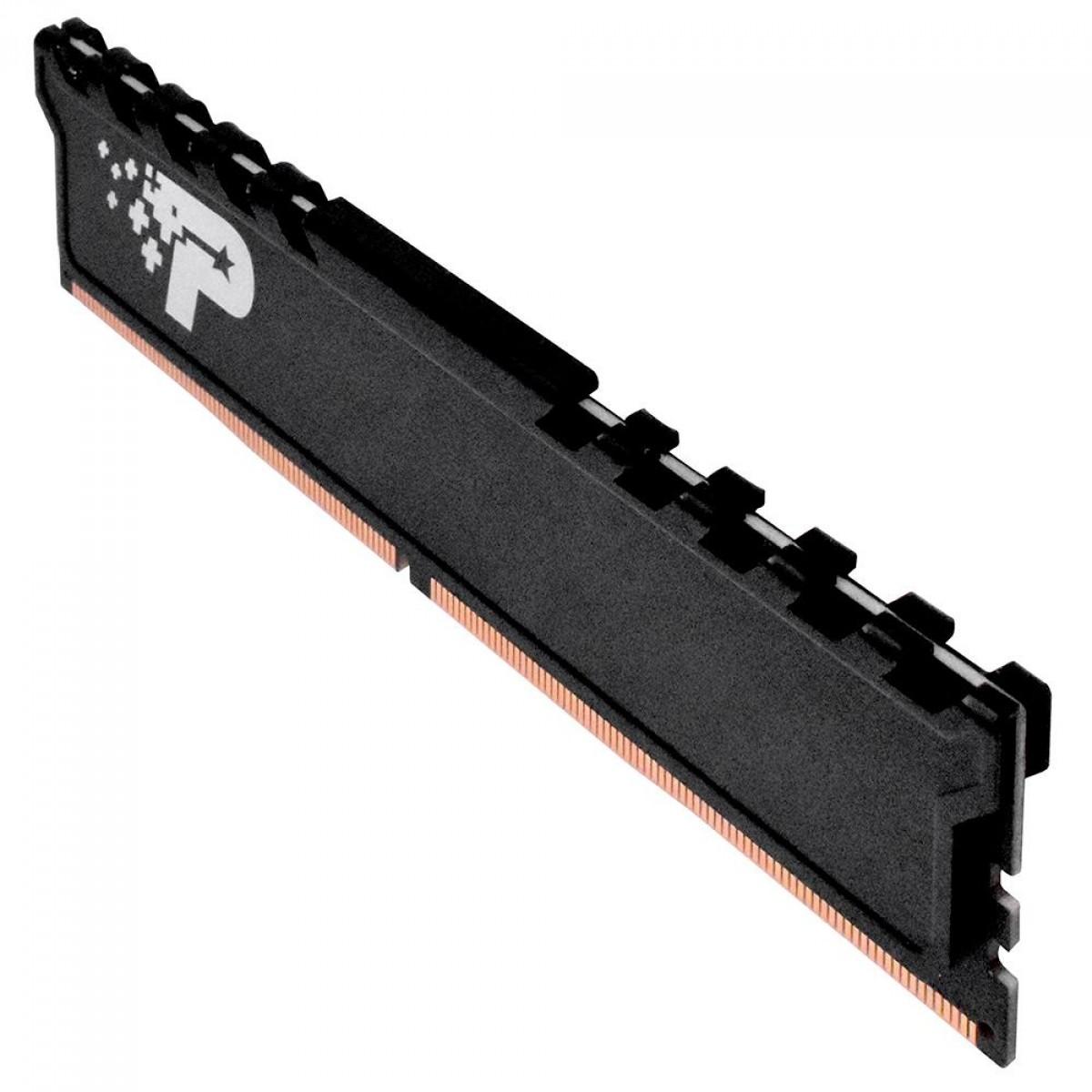 Memória DDR4 Patriot Signature Premium Series, 4GB (1x4GB) 2400MHz, Black, PSP44G240081H1