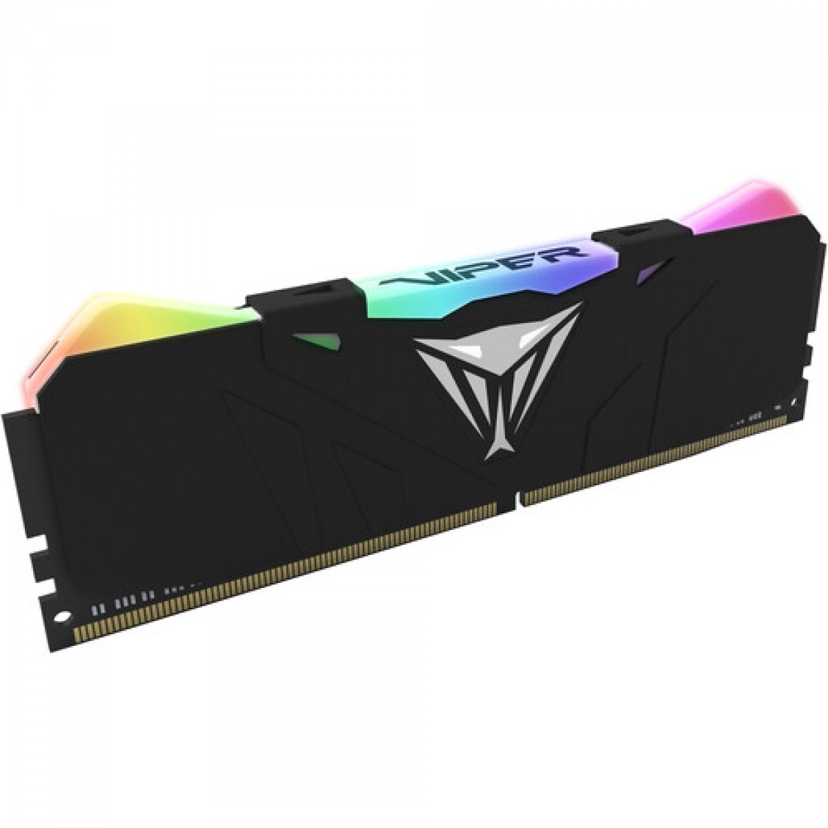 Memória DDR4 Patriot Viper RGB Series, 16GB (1x16GB) 3600MHz, Black, PVR416G360C8