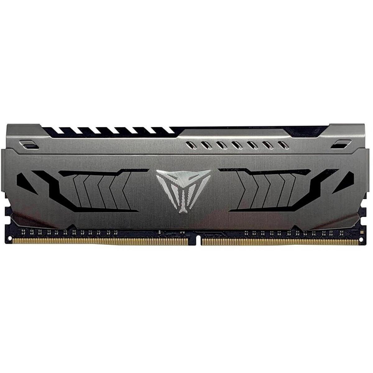 Memória DDR4 Patriot Viper Steel, 8GB 3000MHz, Black, PVS48G300C6