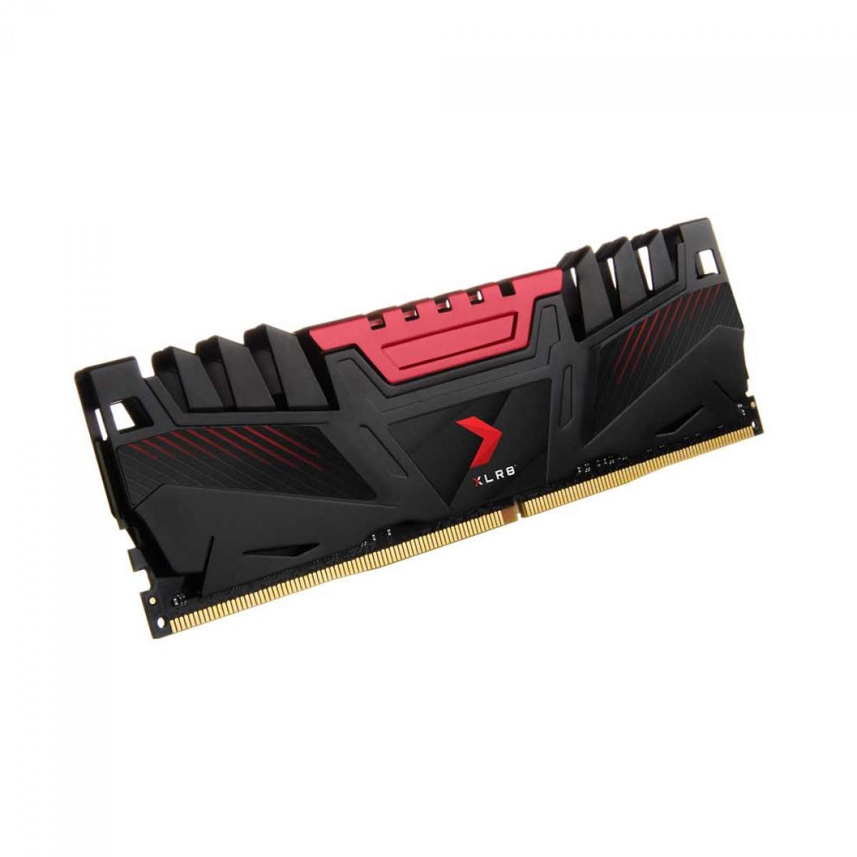 Memória DDR4 PNY XLR8 Gaming, 8GB, 2666MHZ, MD8GD4266616XR