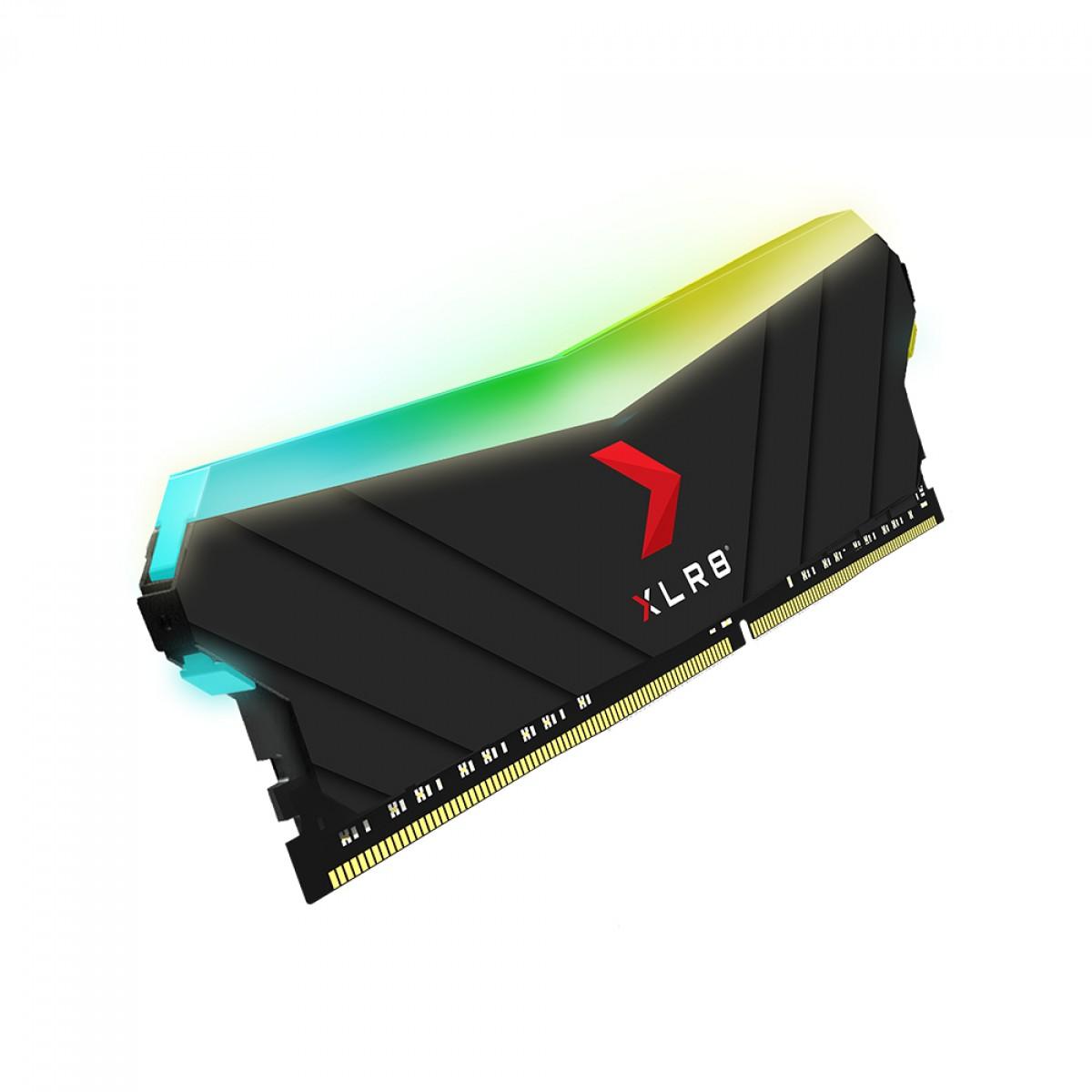Memória DDR4 PNY XLR8 RGB Gaming, 8GB, 3600MHZ, MD8GD4360016XRGB