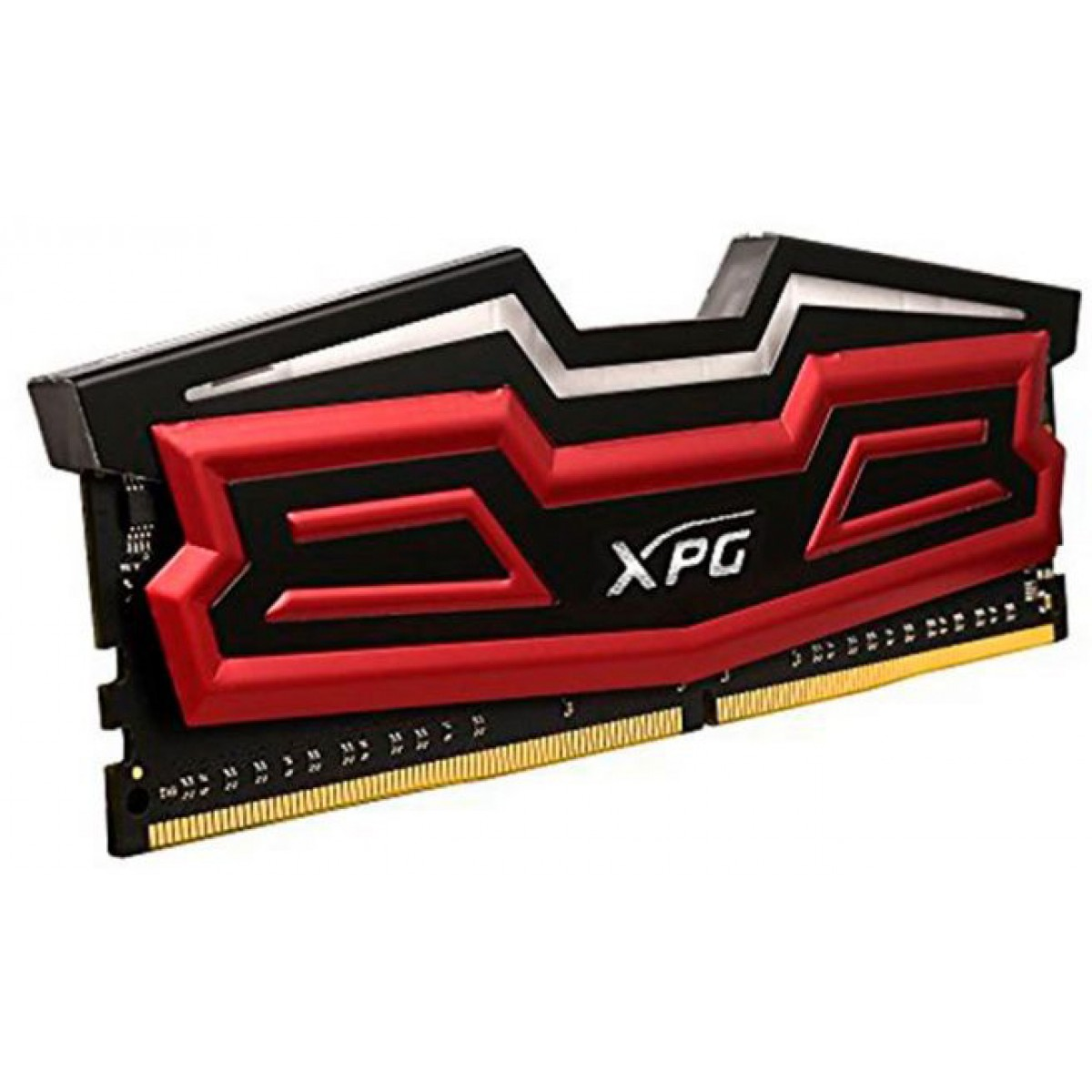 Memória DDR4 XPG Dazzle, 8GB 2400MHz, Red LED, AX4U2400W8G16-SRD