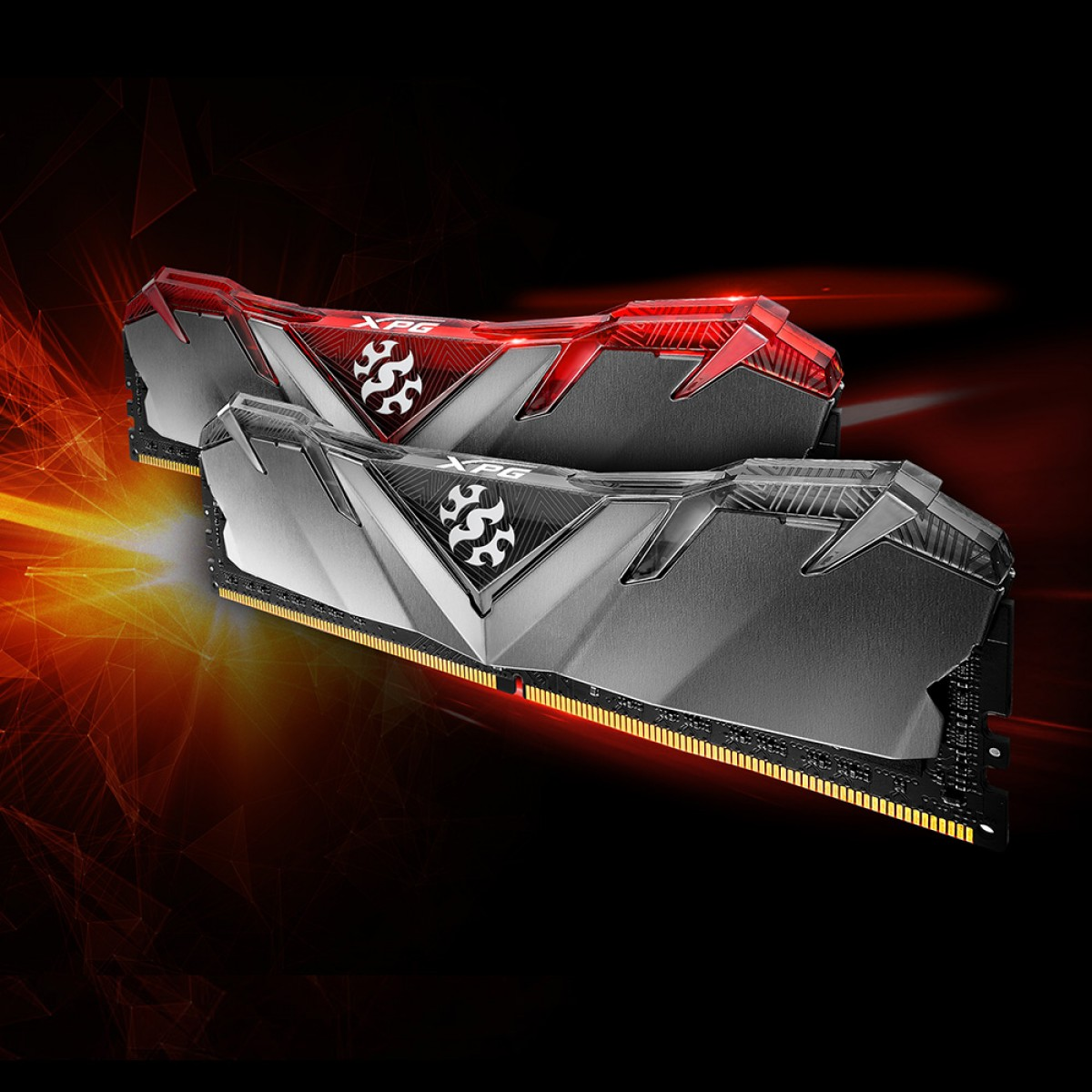 Memória DDR4 XPG Gammix D30, 8GB, 3200Mhz, CL16, Black, AX4U320038G16A-SB30