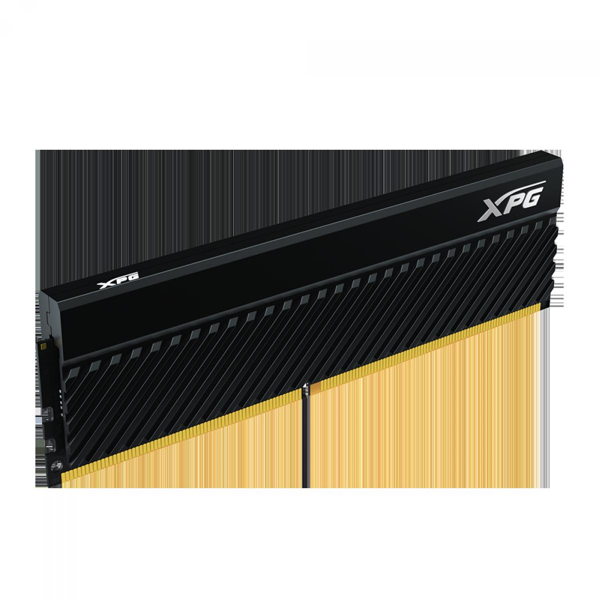 Memória DDR4 XPG Gammix D45, 16GB (2x8GB), 3200MHz, Black, AX4U32008G16A-DCBKD45