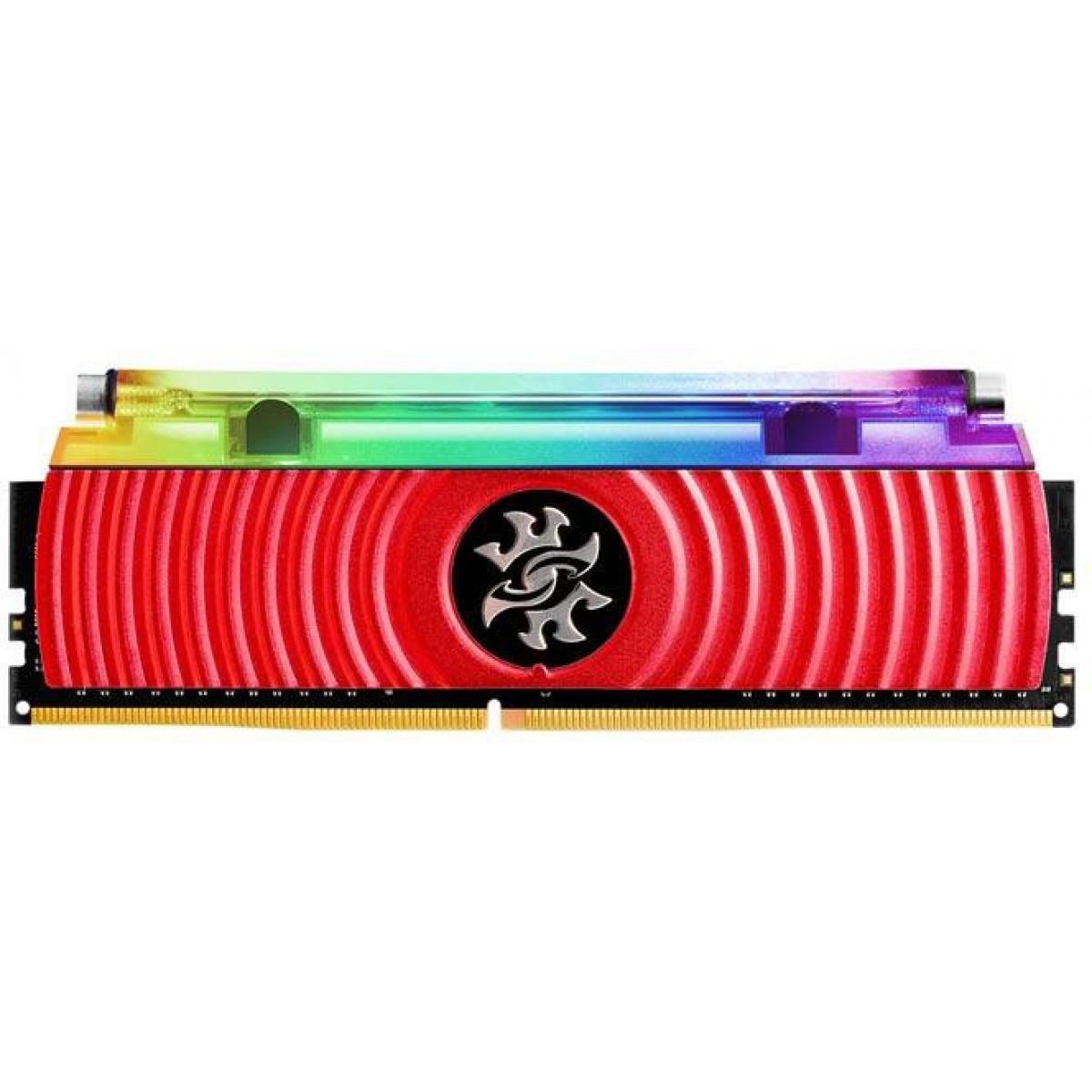 Memória DDR4 XPG Spectrix D80 RGB, 8GB 3000Mhz, AX4U300038G16-SR80