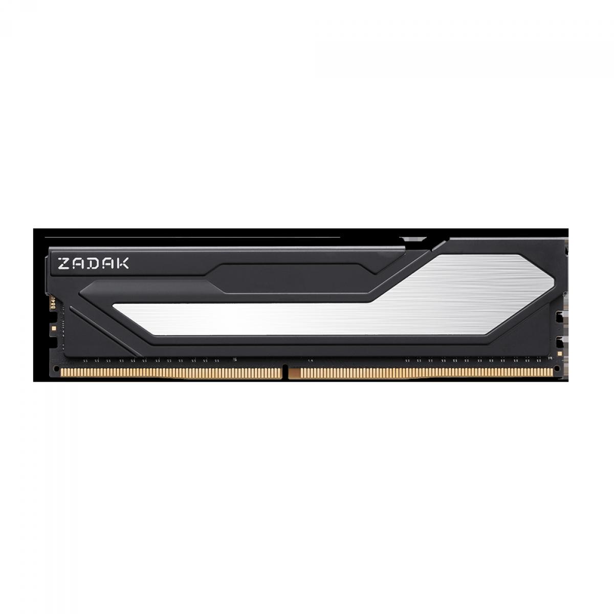 Memória DDR4 Zadak Twist, Black, 8GB, 2666MHz, ZD4-TWS26C08-08GYB1