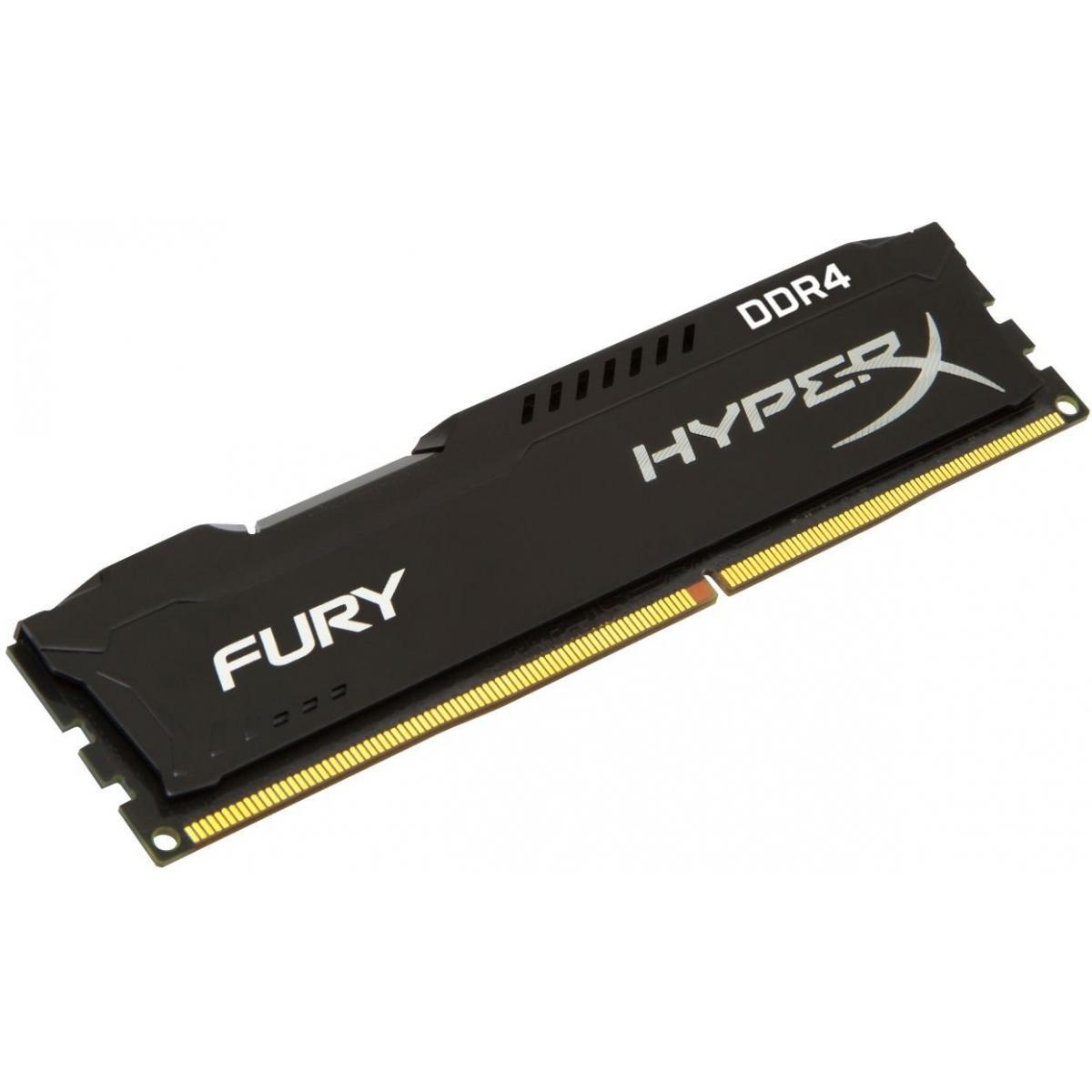 Memória DDR4 HyperX Fury, 4GB 2400MHz, HX424C15FB/4