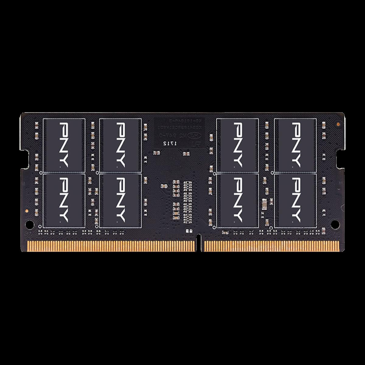 Memória Notebook DDR4 PNY Perfomance, 32GB , 2666MHZ, MN32GSD42666