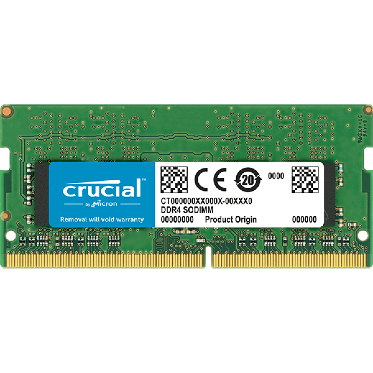 Memória para Notebook DDR4 Crucial, 8GB 2400MHz, CT8G4SFS824A
