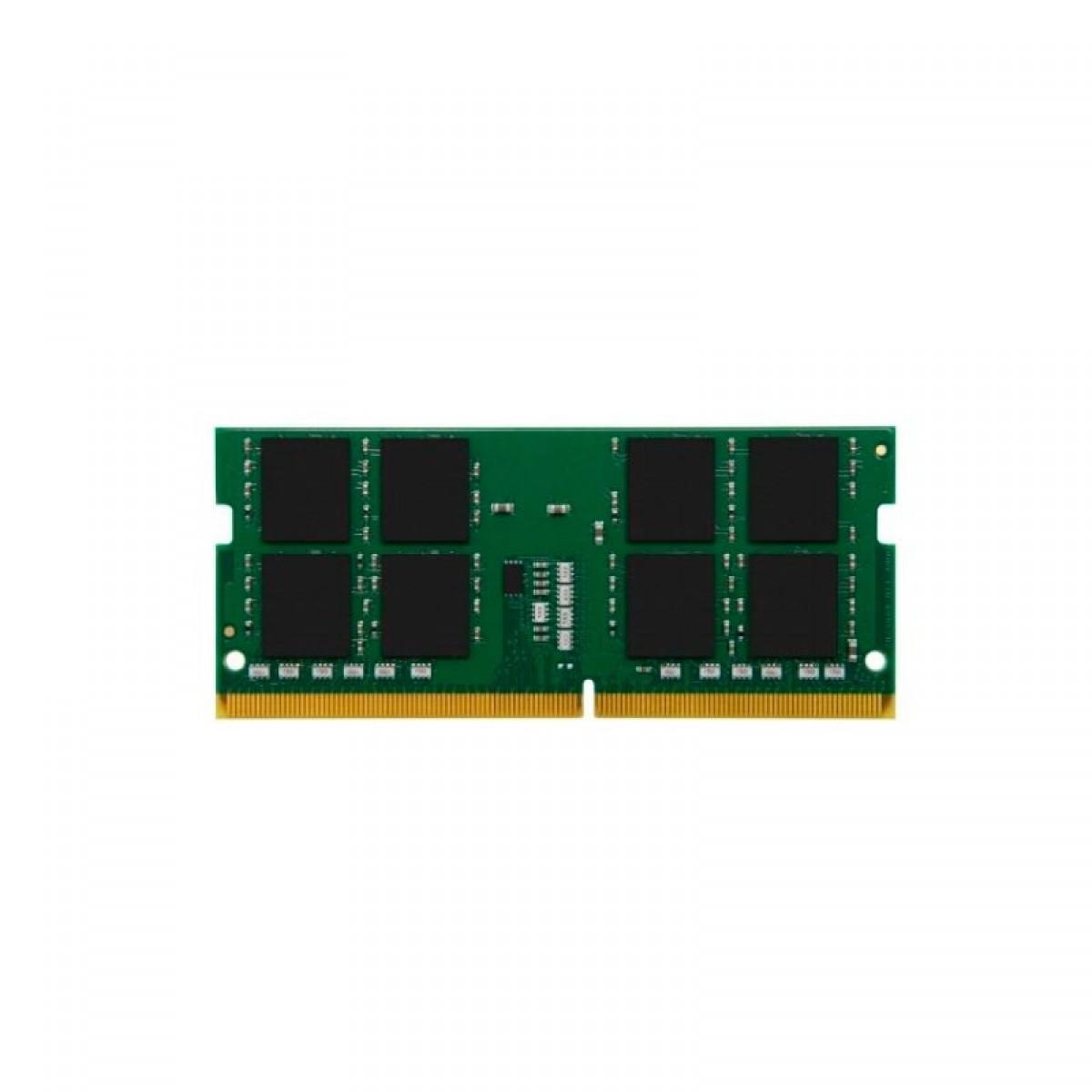 Memória para Notebook DDR4 Kingston, 4GB, 2666MHz, KVR26S19S6/4