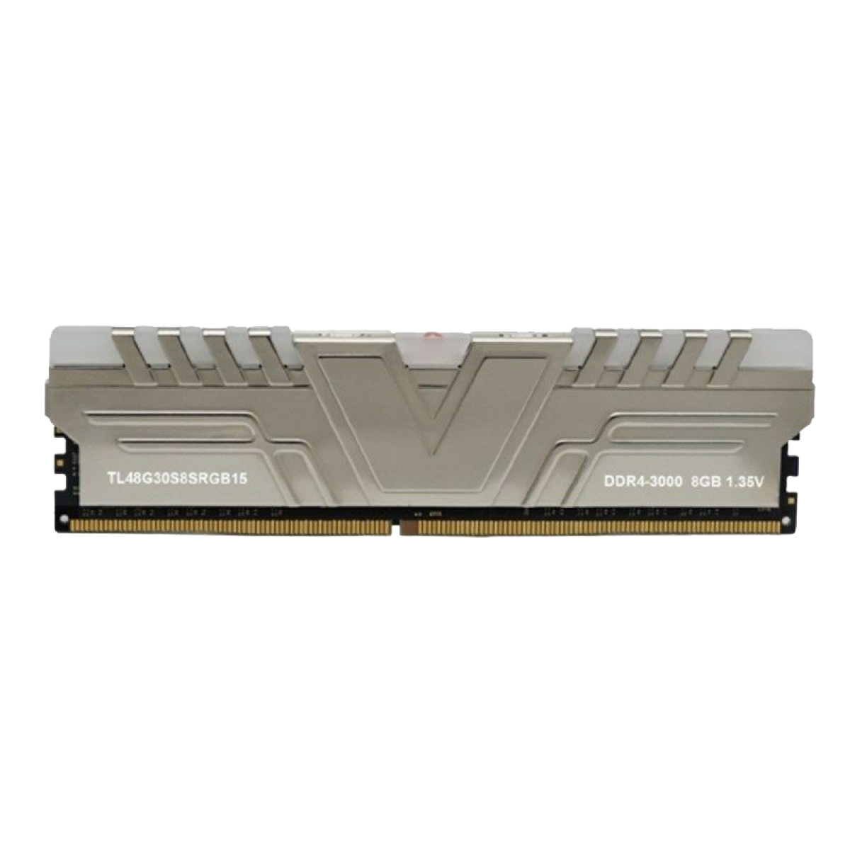 Memória V-color DDR4 SKYWALKER PRISM RGB 3000 U-dimm, 8GB, 3000MHZ, GRAY, TL48G30S8SRGB15