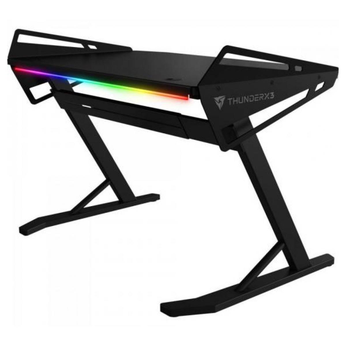 Mesa Gamer Thunderx3 AD3 HEX, RGB, 120cm, Black