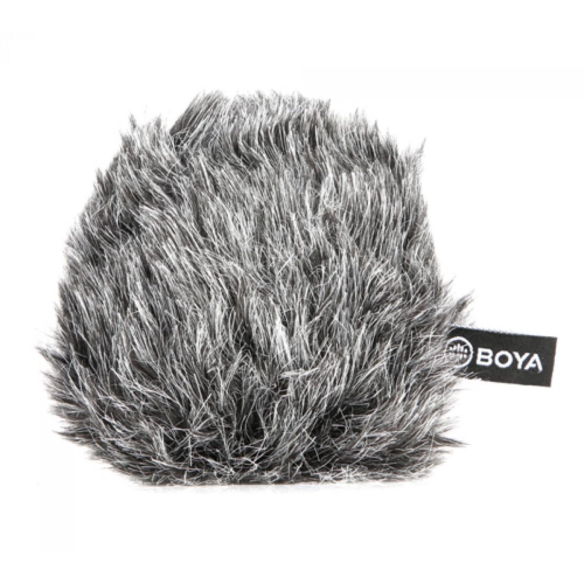 Microfone de Câmera BOYA BY-MM1+, 3.5mm, Black