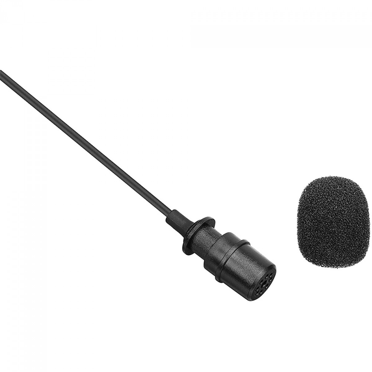 Microfone de Lapela BOYA BY-M1 Pro, Omnidirecional, Com Clip, 3.5mm, Black