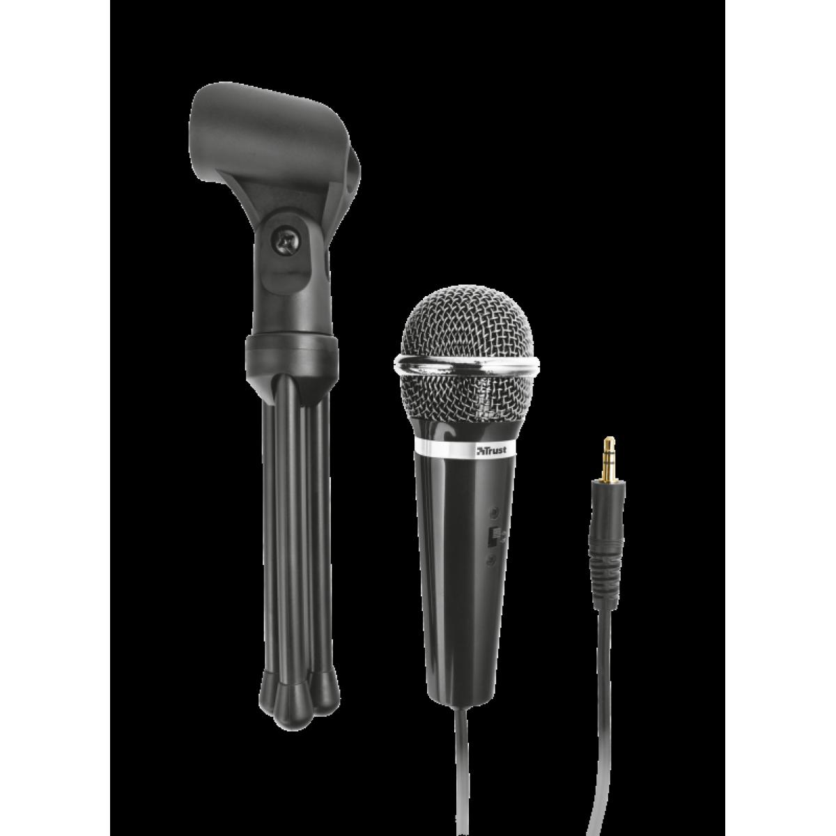 Microfone Trust Starzz All Round, PC ou Laptop, T21671