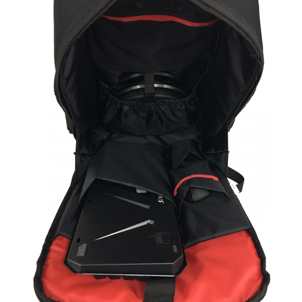 Mochila Redragon Tadis GB-100 Preta/Vermelha