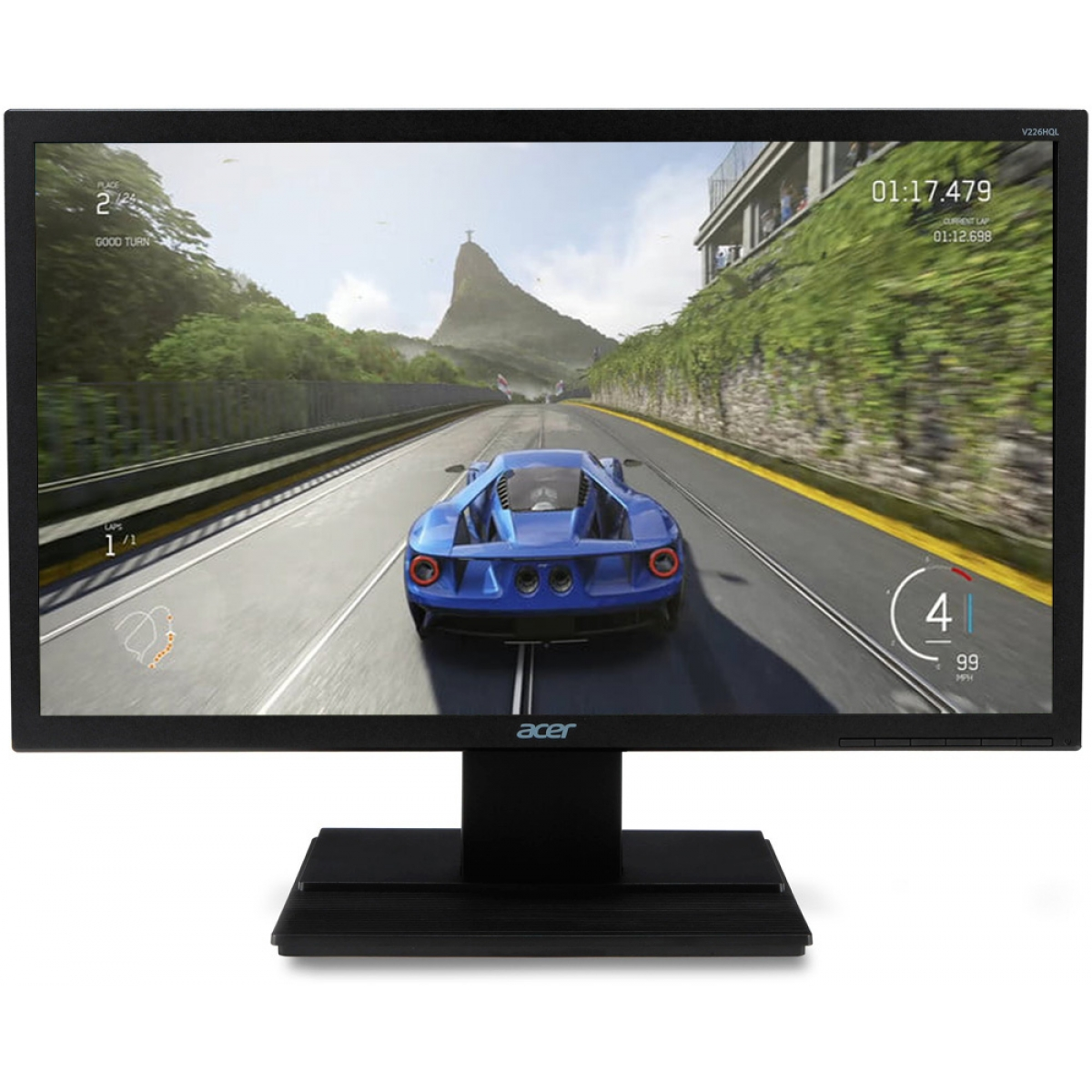 Monitor Gamer Acer 21.5 Pol, Full HD, 60hz, 5ms, V226HQL