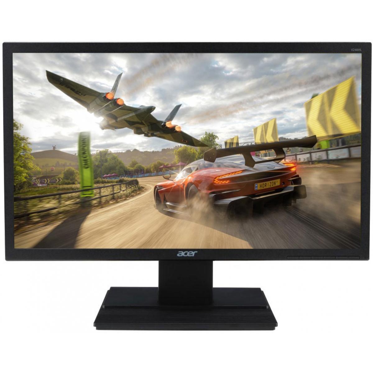 Monitor Gamer Acer 23.6 Pol, Full HD, 60Hz, 5ms, V246HQL