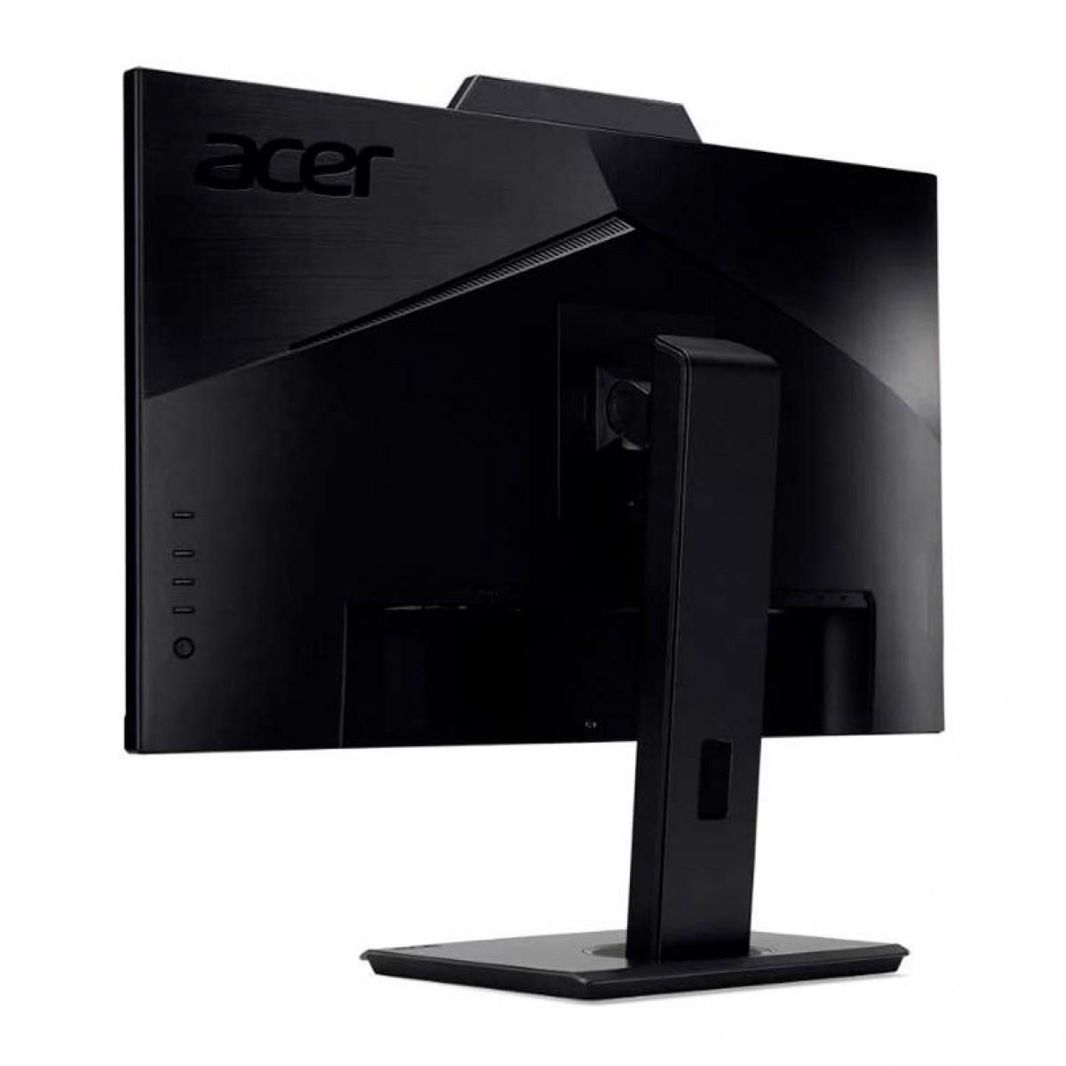 Monitor Gamer Acer B227Q, 22 Pol, Com WebCam, Full HD, HDMI/DP/VGA, B227Q