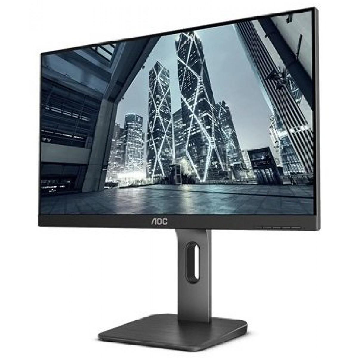 Monitor Gamer AOC 23.8 Pol, Full HD, VGA-HDMI, 24P1U