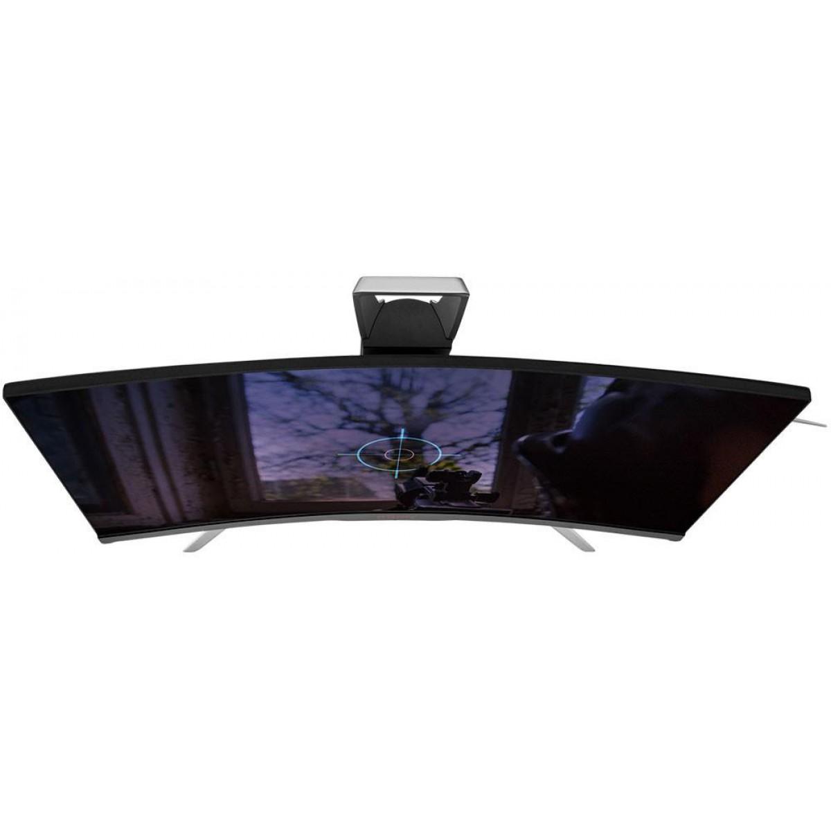Monitor Gamer AOC Agon 27 Pol Curvo, Quad HD, 144Hz, AMD Freesync, AG272QCX