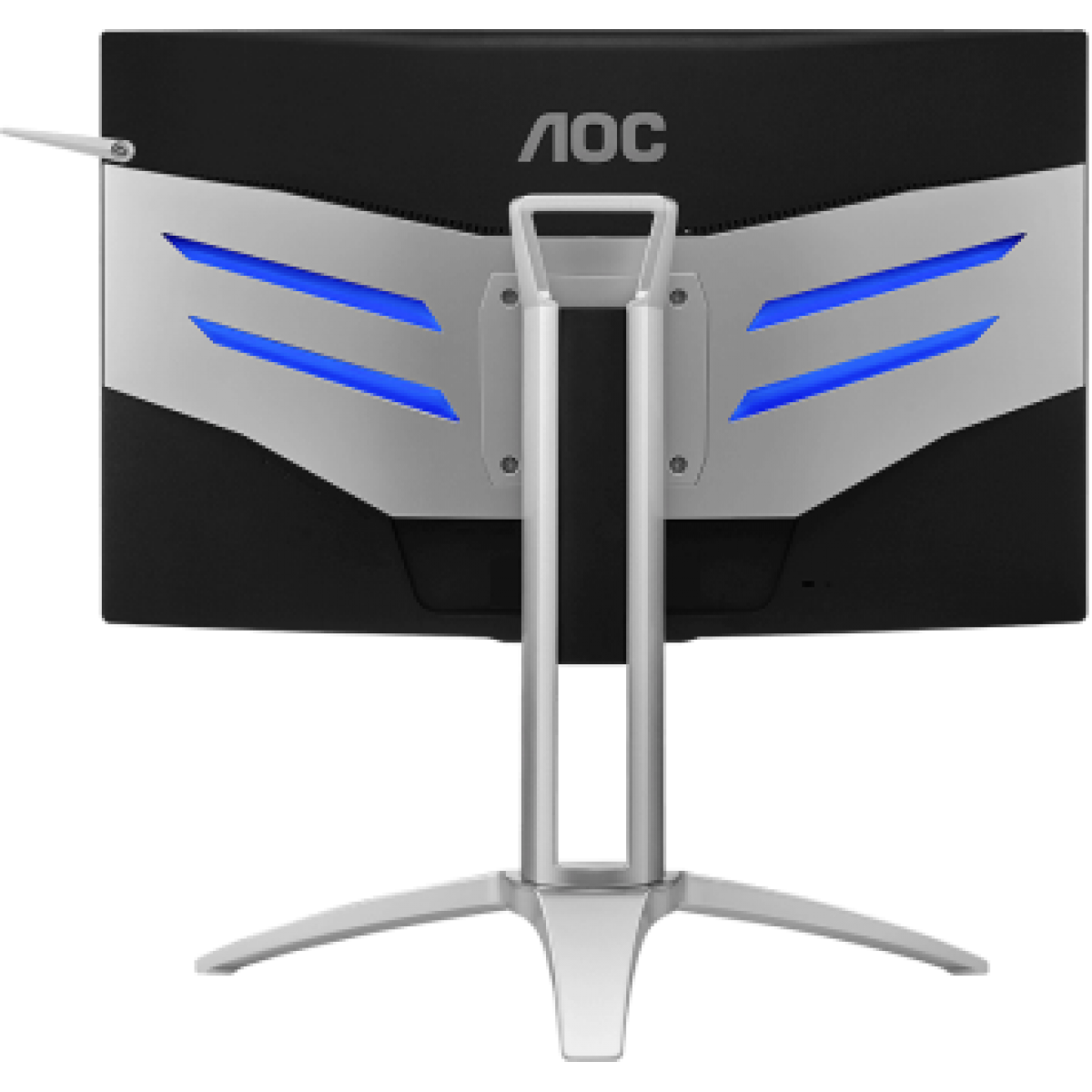 Monitor Gamer AOC Agon 27 Pol Curvo, Full HD, 144Hz, 4ms, AMD Freesync, AG272FCX