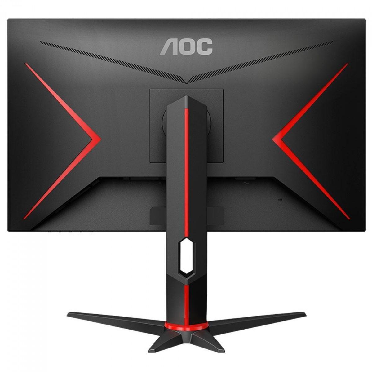Monitor Gamer AOC Hero, 27 Pol, IPS, 144Hz, 1ms, HDMI/DP/VGA, 27G2/BK