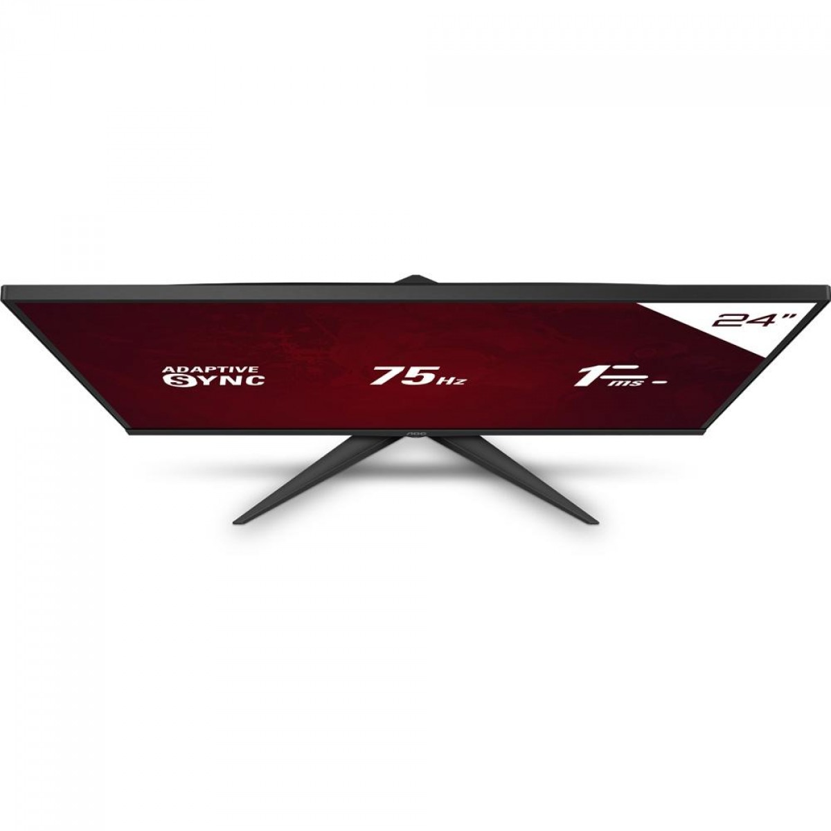 Monitor Gamer AOC Speed, 24 Pol, FullHD, IPS, HDMI/VGA, 24G2HE5