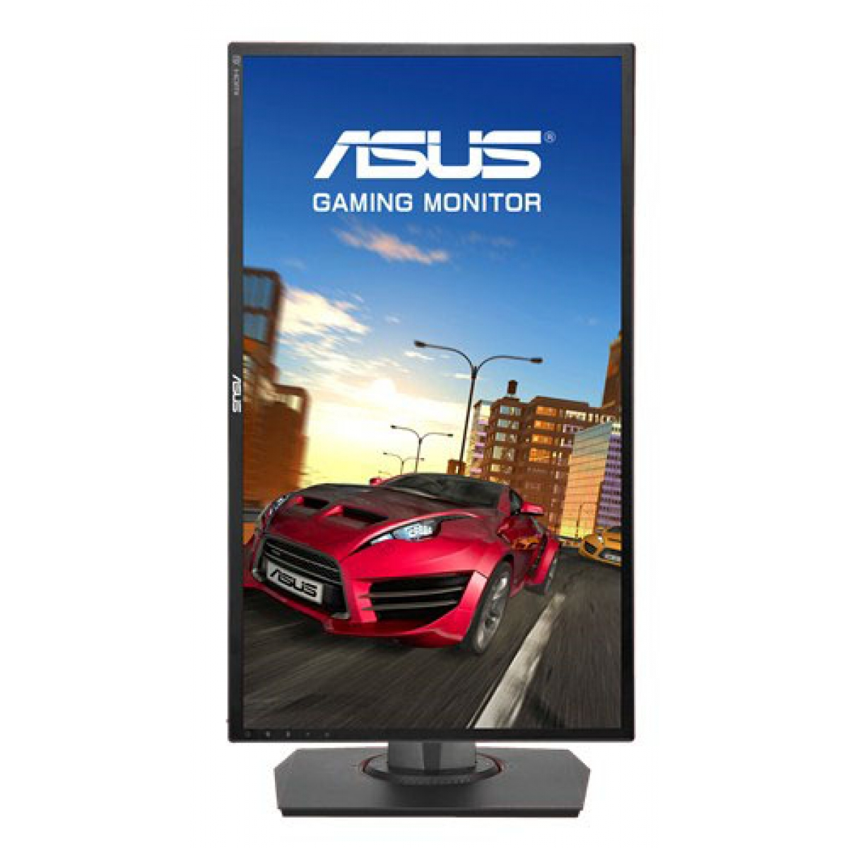 Monitor Gamer Asus 24 Pol, Full HD, 144Hz, 1ms, Adaptive-Sync, Som Integrado, MG248Q