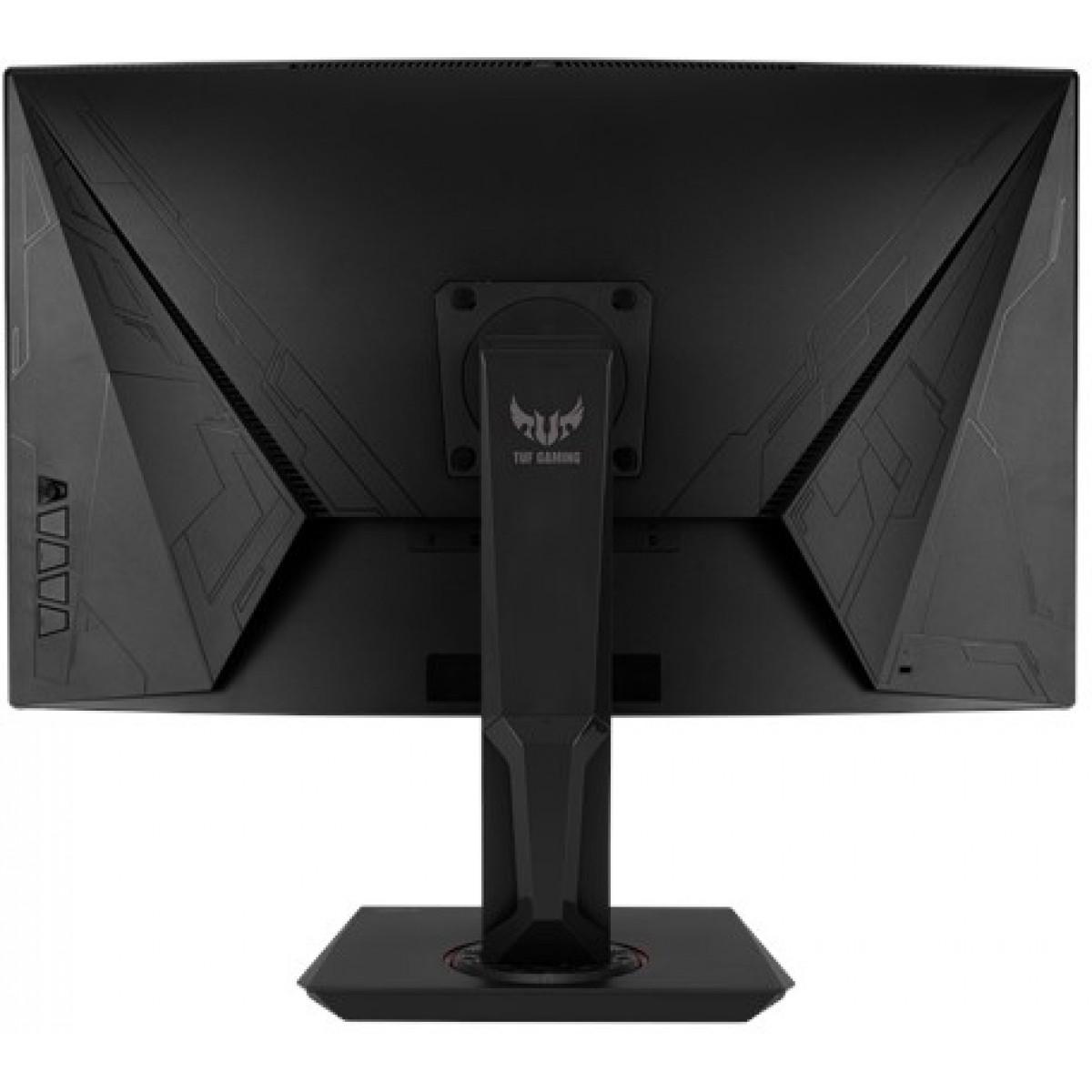 Monitor Gamer Asus TUF Gaming LCD 31,5 Pol, Widescreen Curvo, 144Hz, 1ms, HDMI, DisplayPort, Som integrado, VG32VQ
