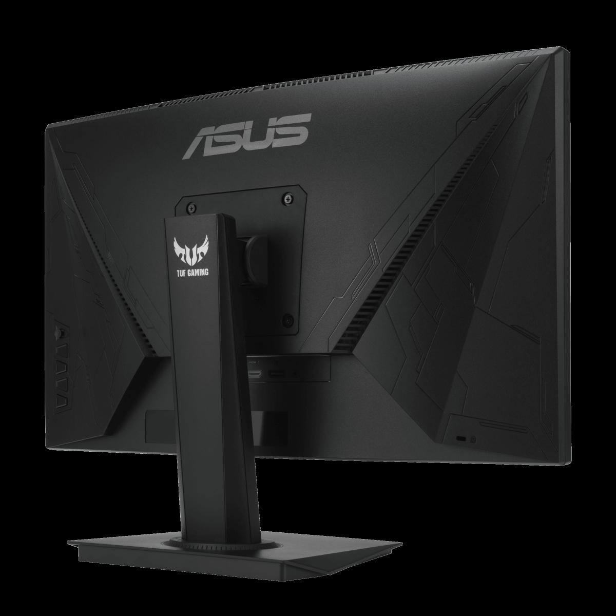 Monitor Gamer Asus TUF Gaming Led 23,6 Pol, Curvo, Full HD, 165Hz, 1ms, IPS, FreeSync Premium, Shadow Boost, VG24VQE