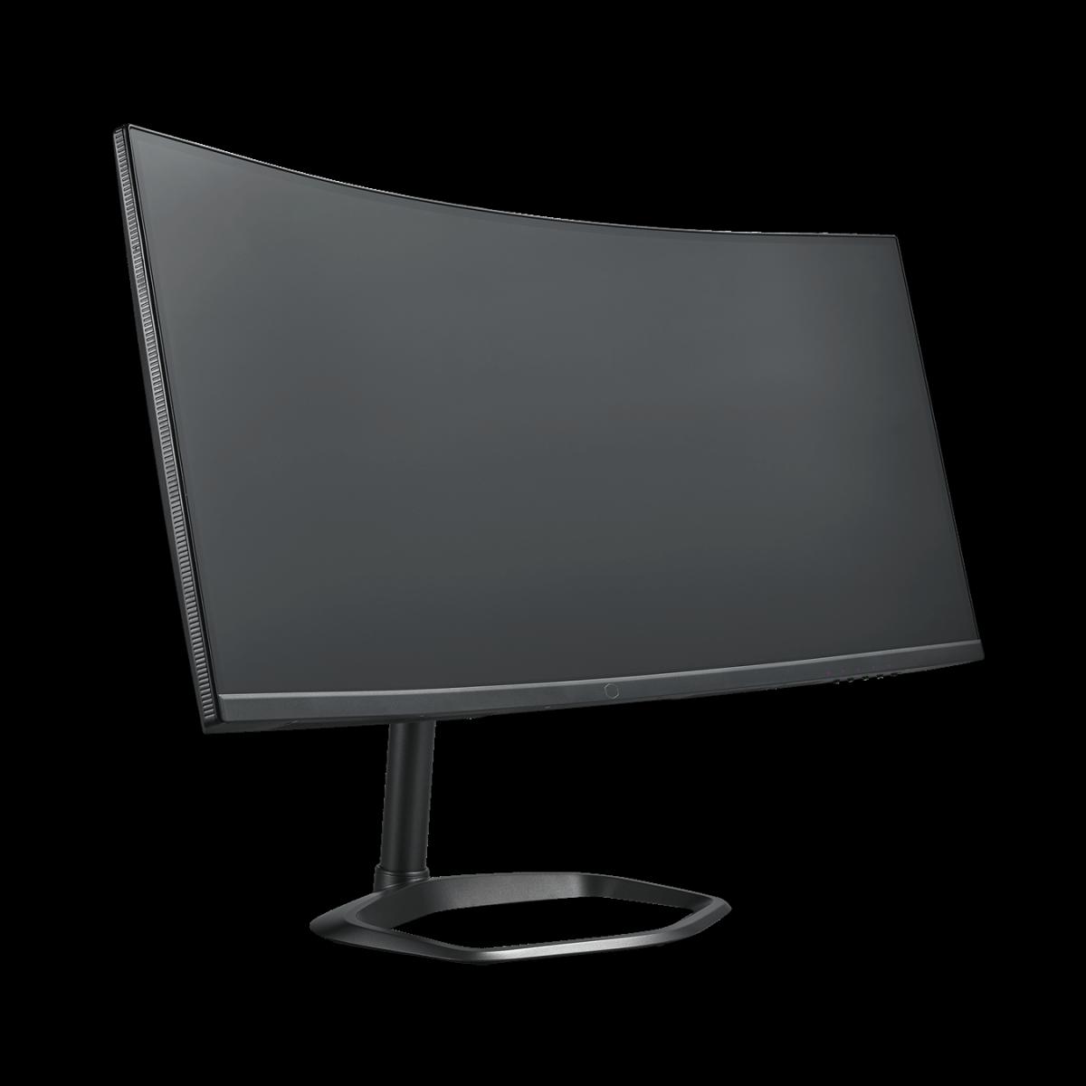 Monitor Gamer Cooler Master GM24-CW, 34 Pol, Curvo, Ultra Wide QHD, 144Hz, 1ms, HDMI/DP, CMI-GM34-CW