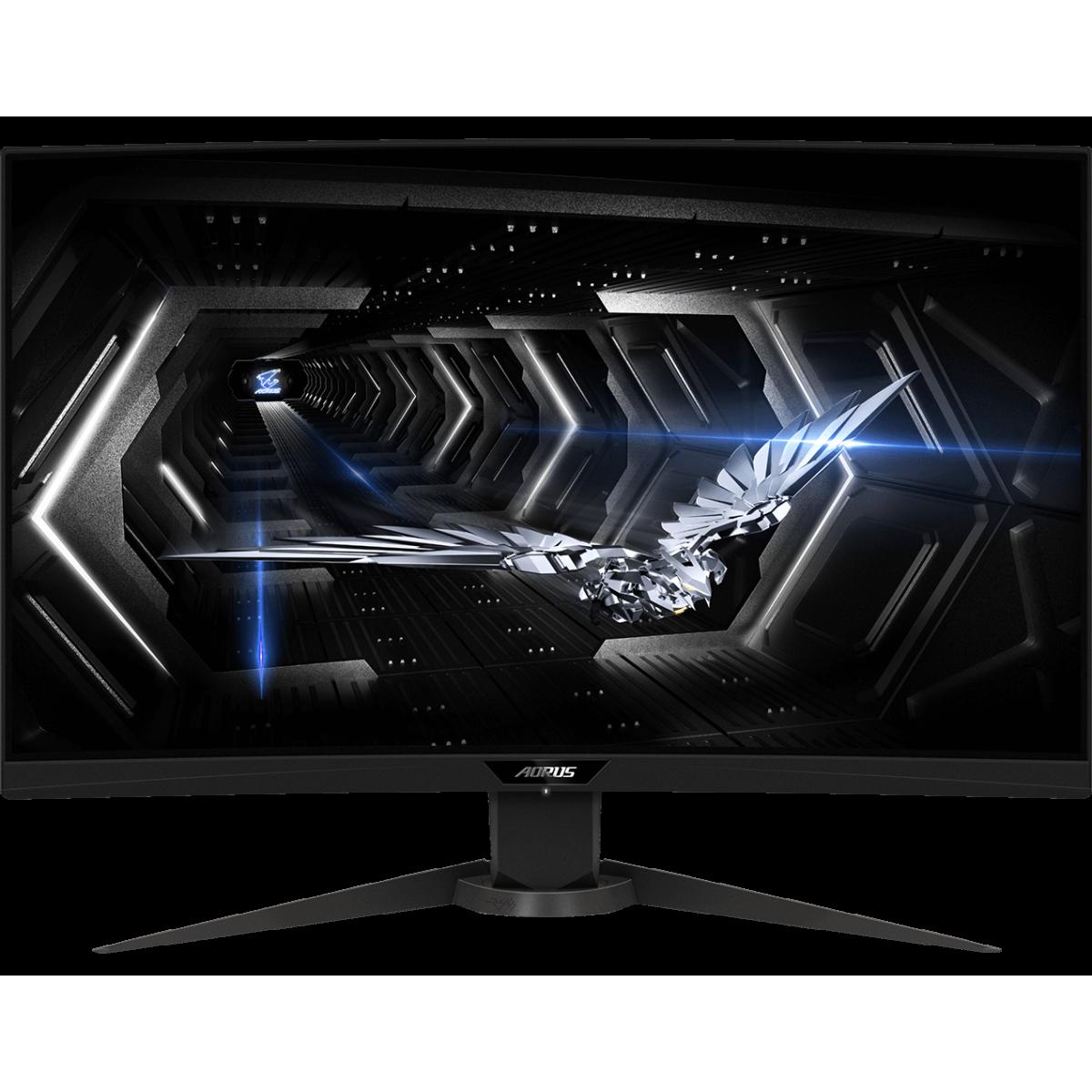 Monitor Gamer Gigabyte Aorus CV27Q, 27 Pol, QuadHD, 165Hz, 1ms, VA, FreeSync, HDR, DP/HDMIx2, 20VM0-ACV27QBA-1SAR