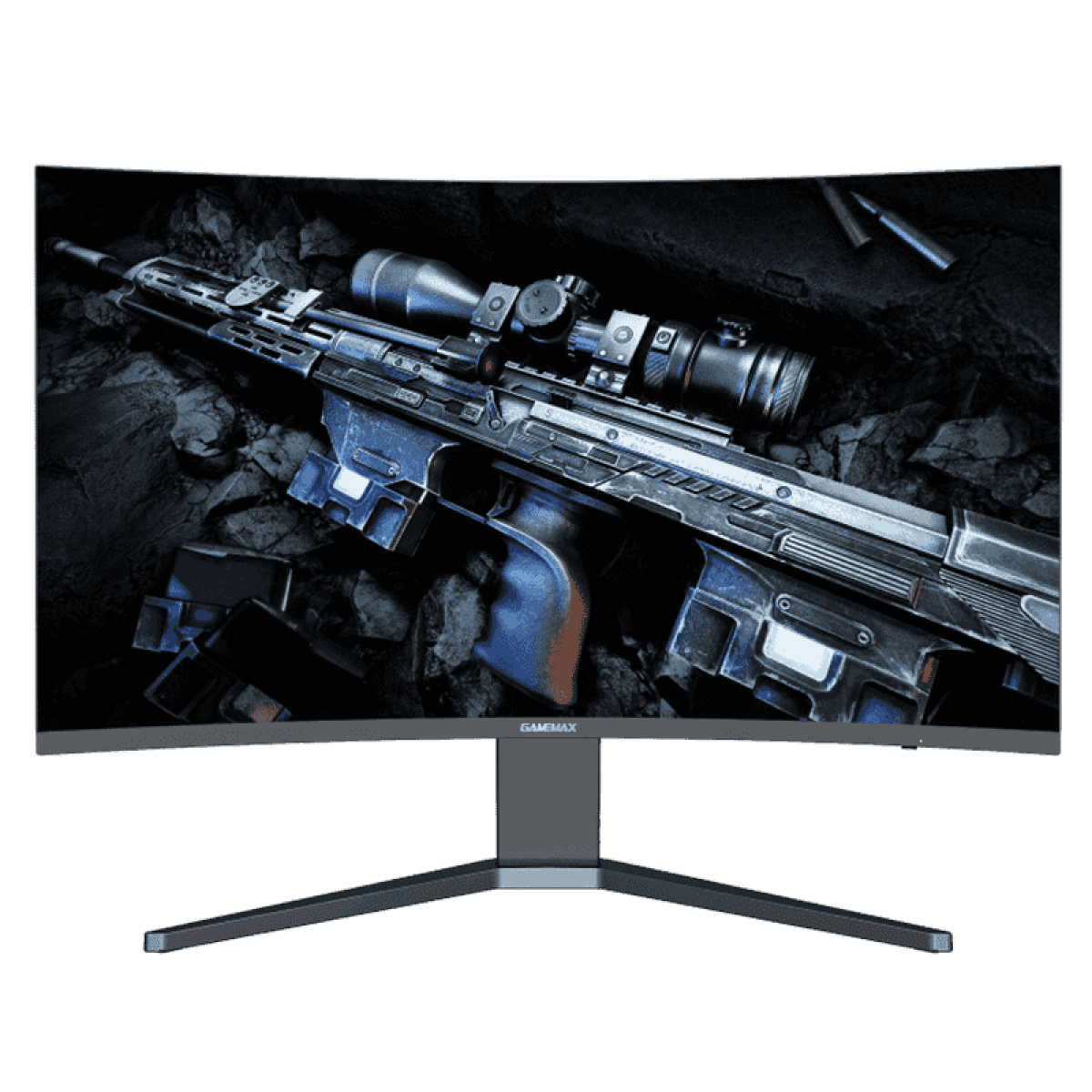 Monitor Gamer GameMax 27 Pol Curvo, WQHD, 165Hz, 1ms, Black, GMX27C165Q