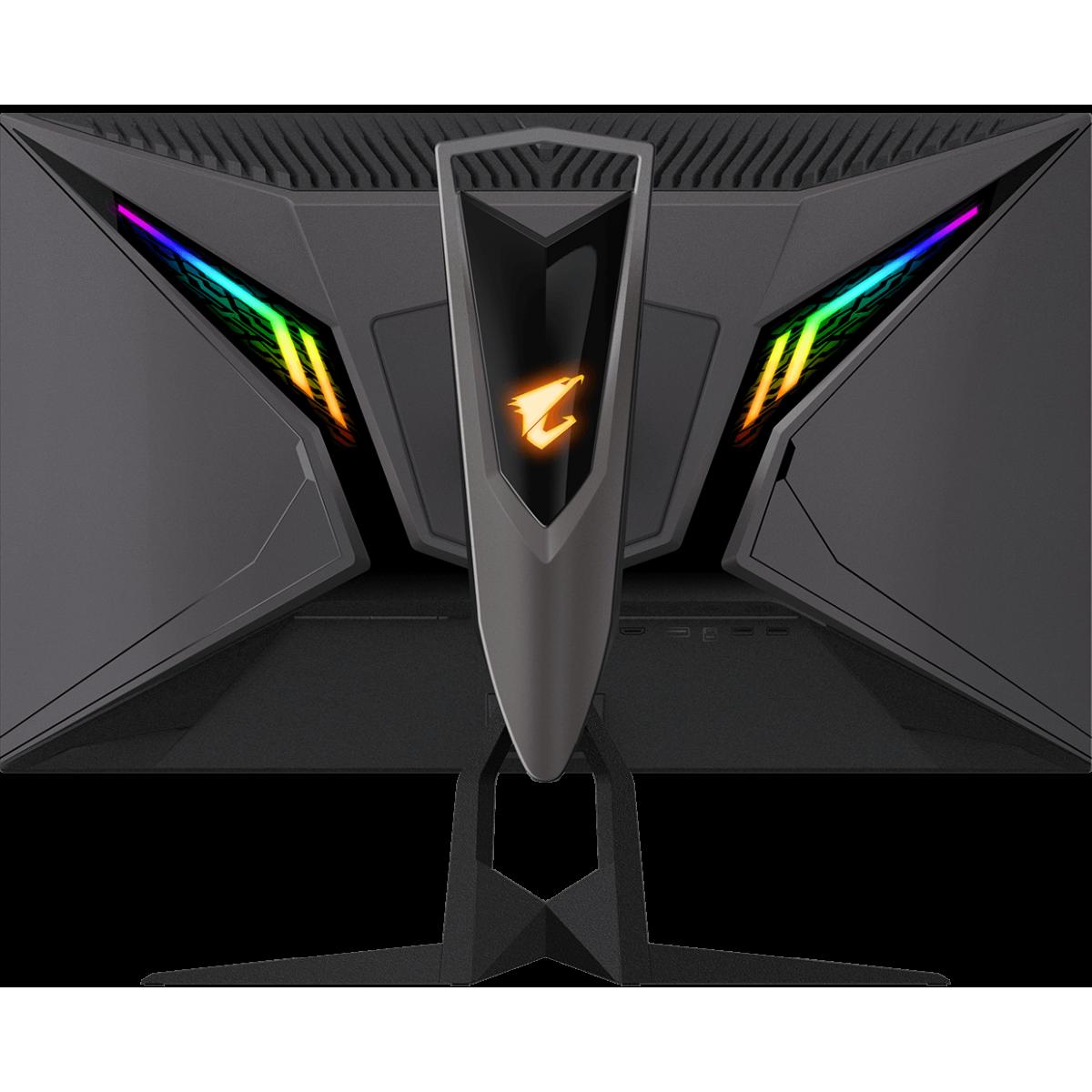 Monitor Gamer Gigabyte Aorus FI27Q, 27 Pol, QuadHD, 165Hz, 1ms, IPS, FreeSync, HDR, DP/HDMIx2, 20VM0-AFI27QBA-1SAR