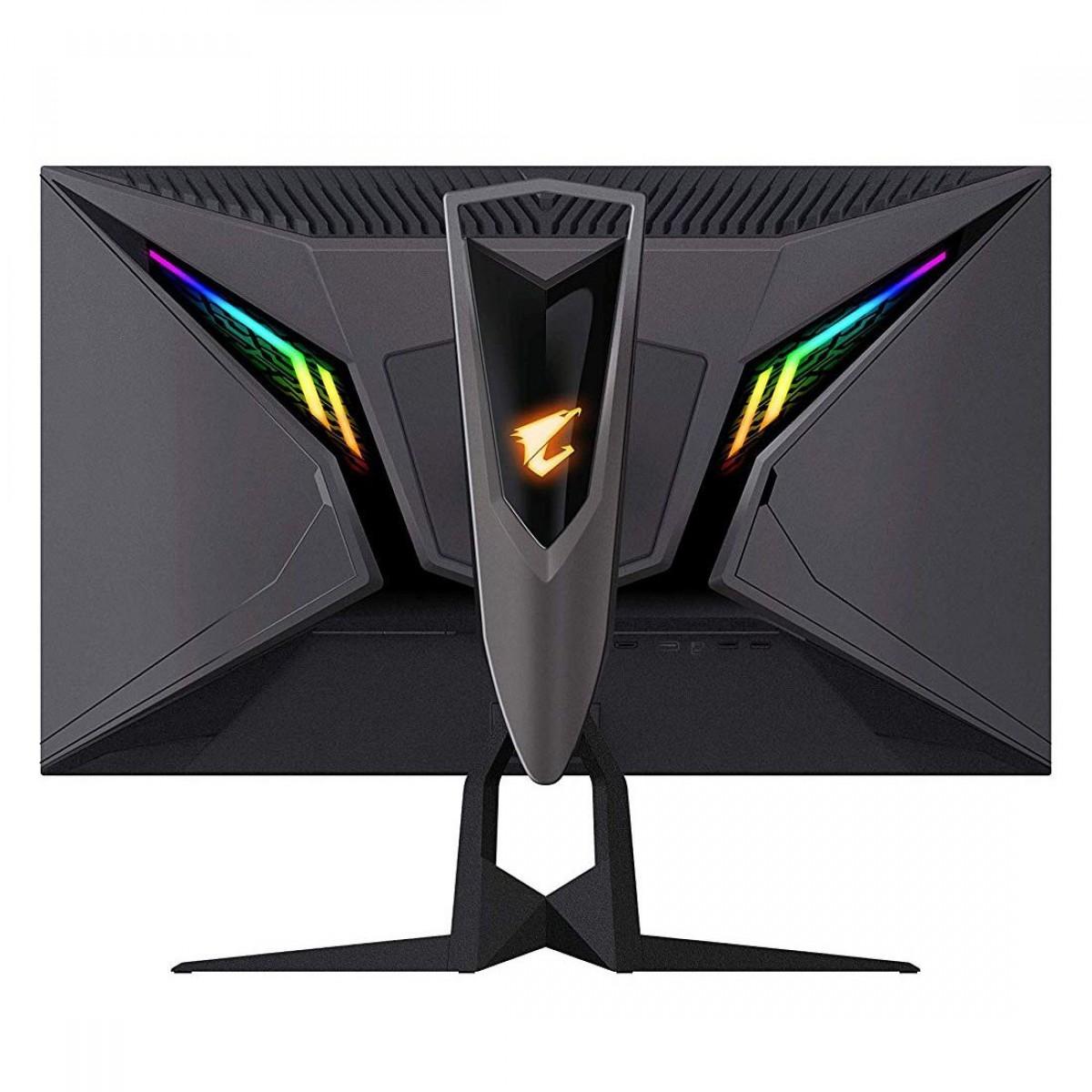 Monitor Gamer Gigabyte Aorus 27 Pol RGB, QHD, 144Hz, 1ms, FreeSync, AORUS AD27QD-AS