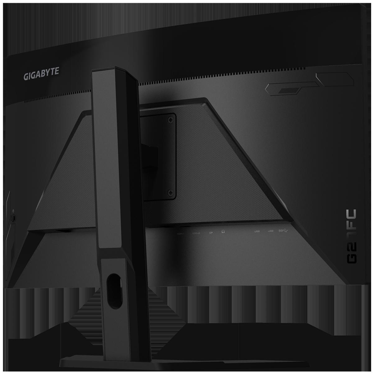Monitor Gamer Gigabyte G27FC, 27 Pol, FullHD, 165Hz, 1ms, VA, FreeSync, DP/HDMIx2, 20VM0-GG27FCBT-1SAR