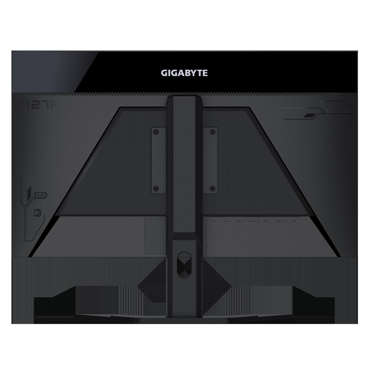 Monitor Gamer Gigabyte M27F, 27 Pol, FullHD, 144Hz, 1ms, IPS, KVM, FreeSync, HDR, DP/HDMIx2, 20VM0-M27FBA-1SAR