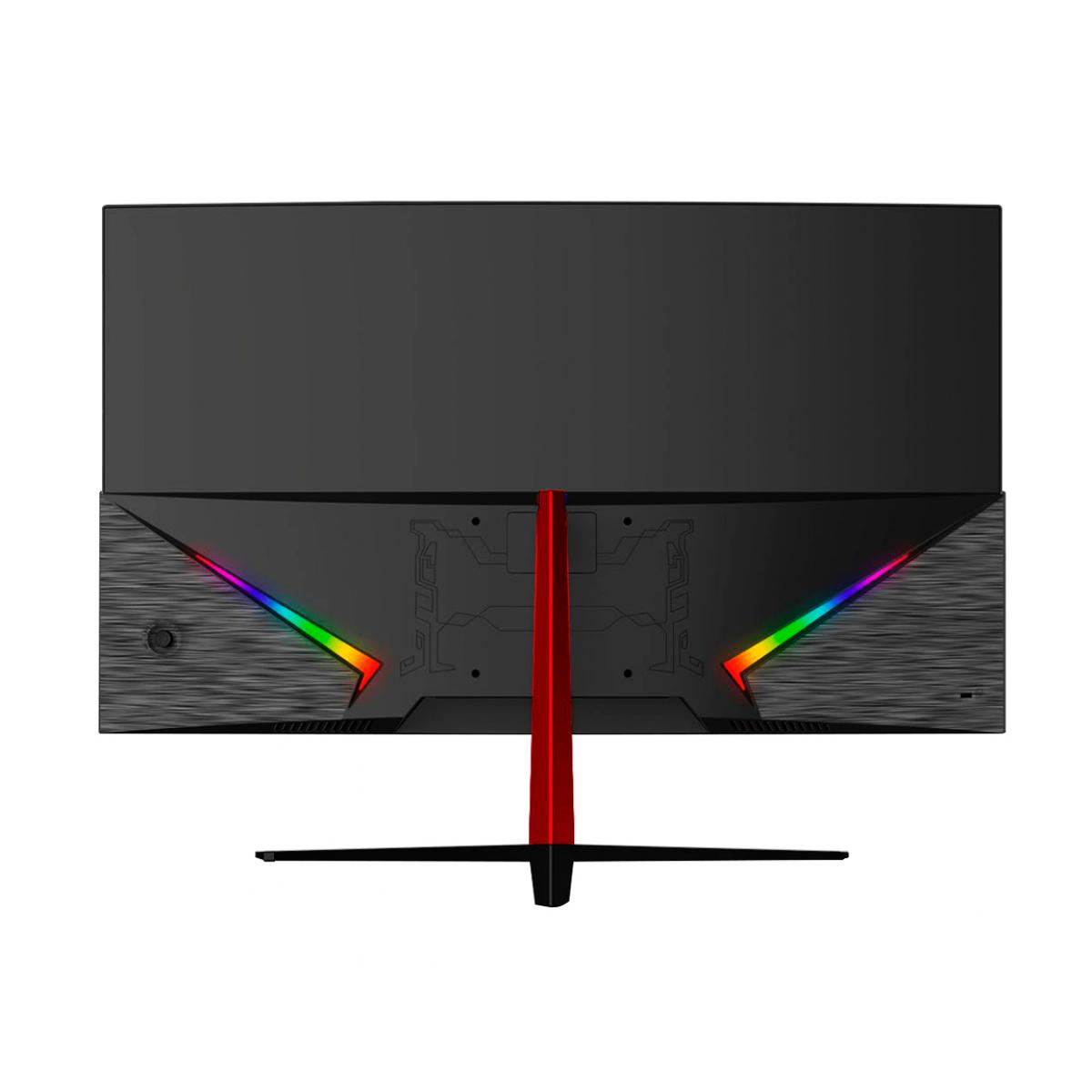 Monitor Gamer HQ Curvo 27 Pol, 165Hz, 1ms, Freesync, HDMI, Display Port, Borda Ultra Fina, 27HQ-LED CURVO RGB R3000
