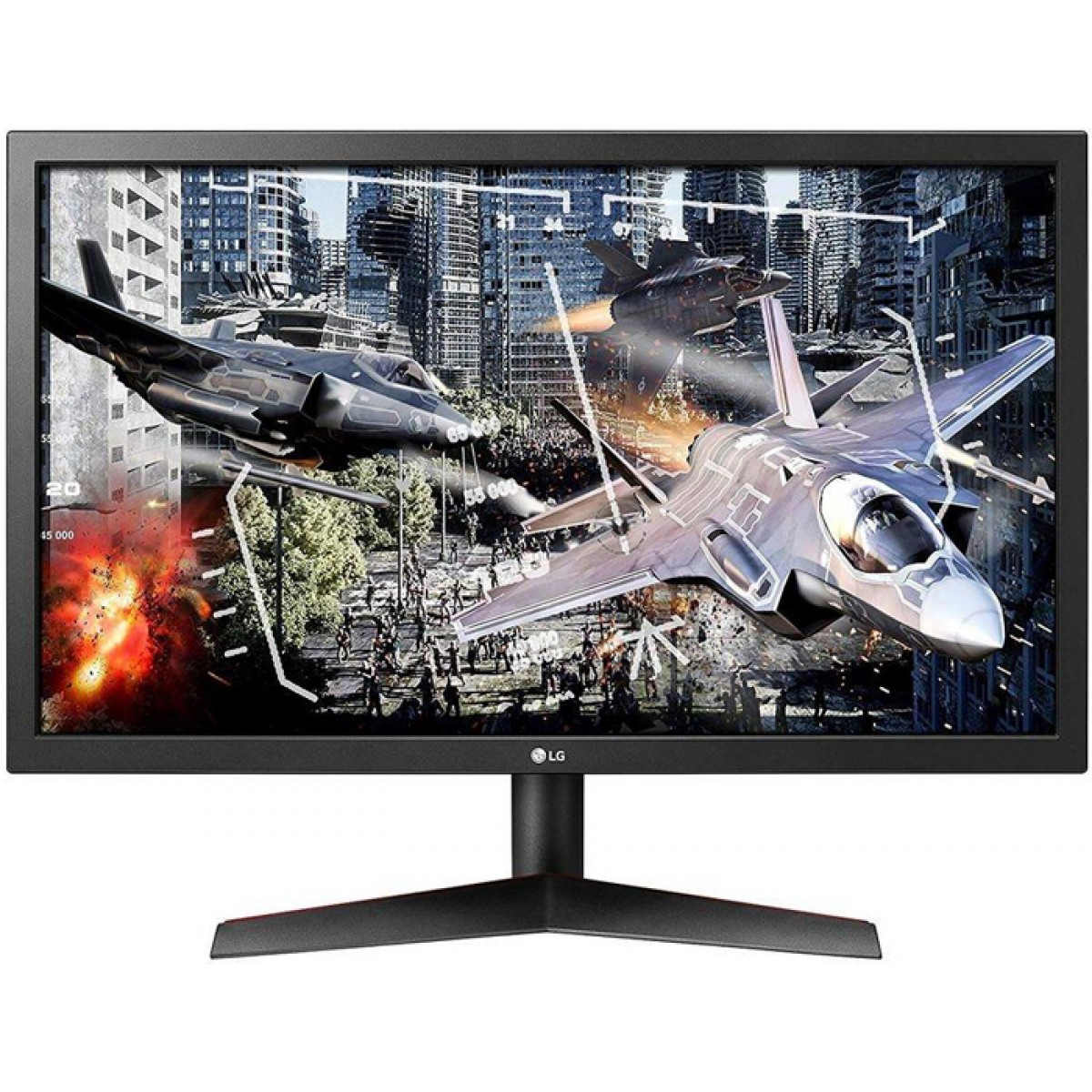 Monitor Gamer LG 24 Pol, Full HD, 144hz, 1ms, FreeSync, 24GL600F-B