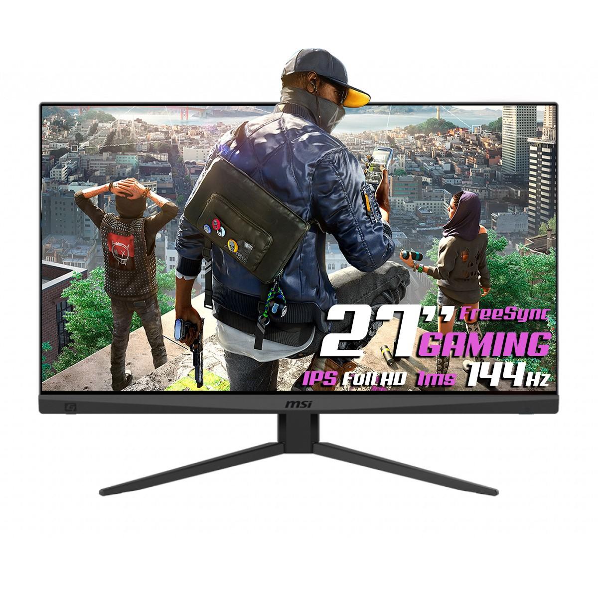 Monitor Gamer MSI Optix, 27 Pol, FullHD, 144Hz, 1ms, IPS, HDMI/DP, MAG274