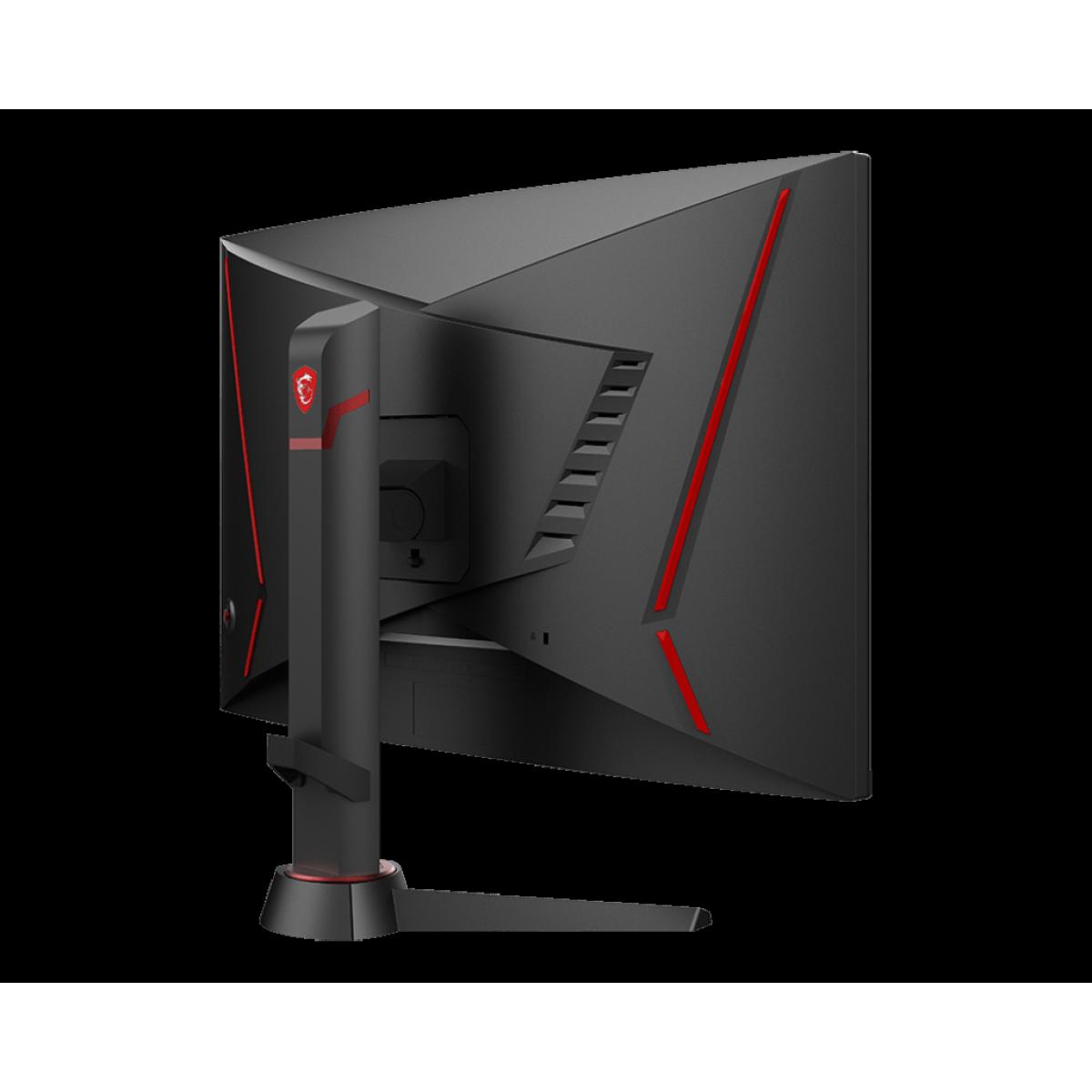 Monitor Gamer MSI Optix, 27 Pol, FullHD, Curvo, 165Hz, 1ms, HDMI/DP, MAG270VC2