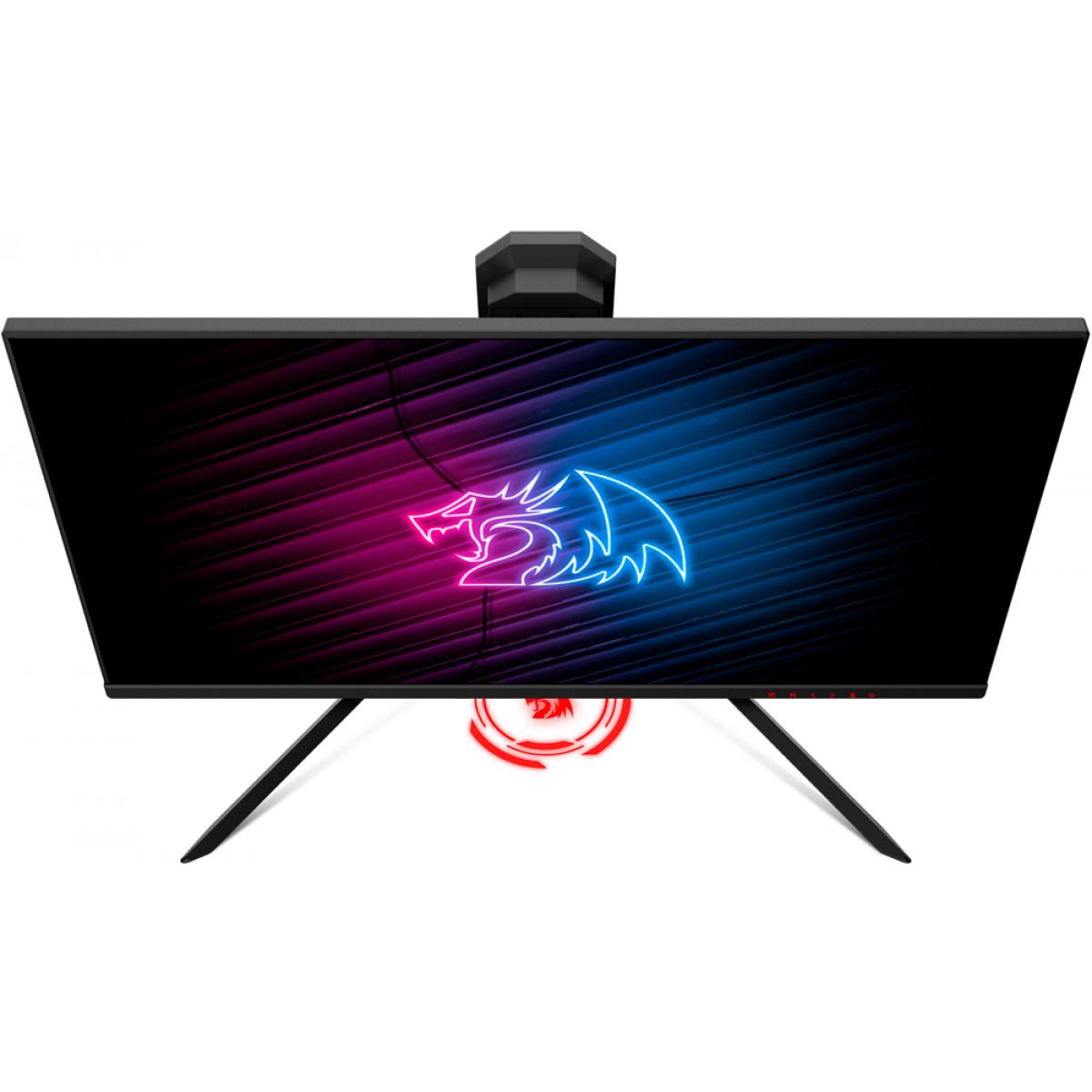 Monitor Gamer Redragon Rediamond RGB, 25 Pol, Full HD, 144Hz, 1ms, HDMI, Display Port